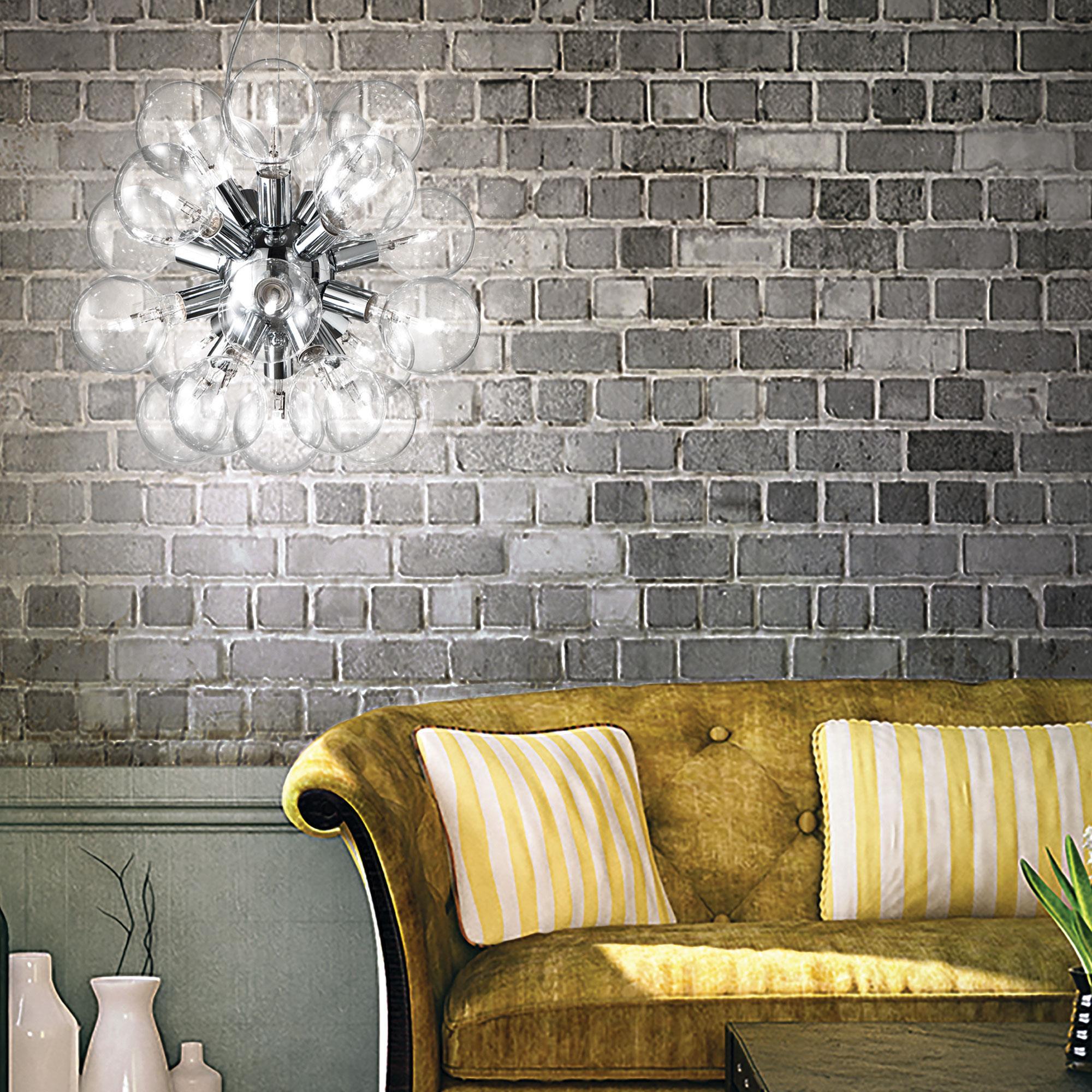 Ideal Lux 074801 Dea SP20 Cromo lámpa függeszték