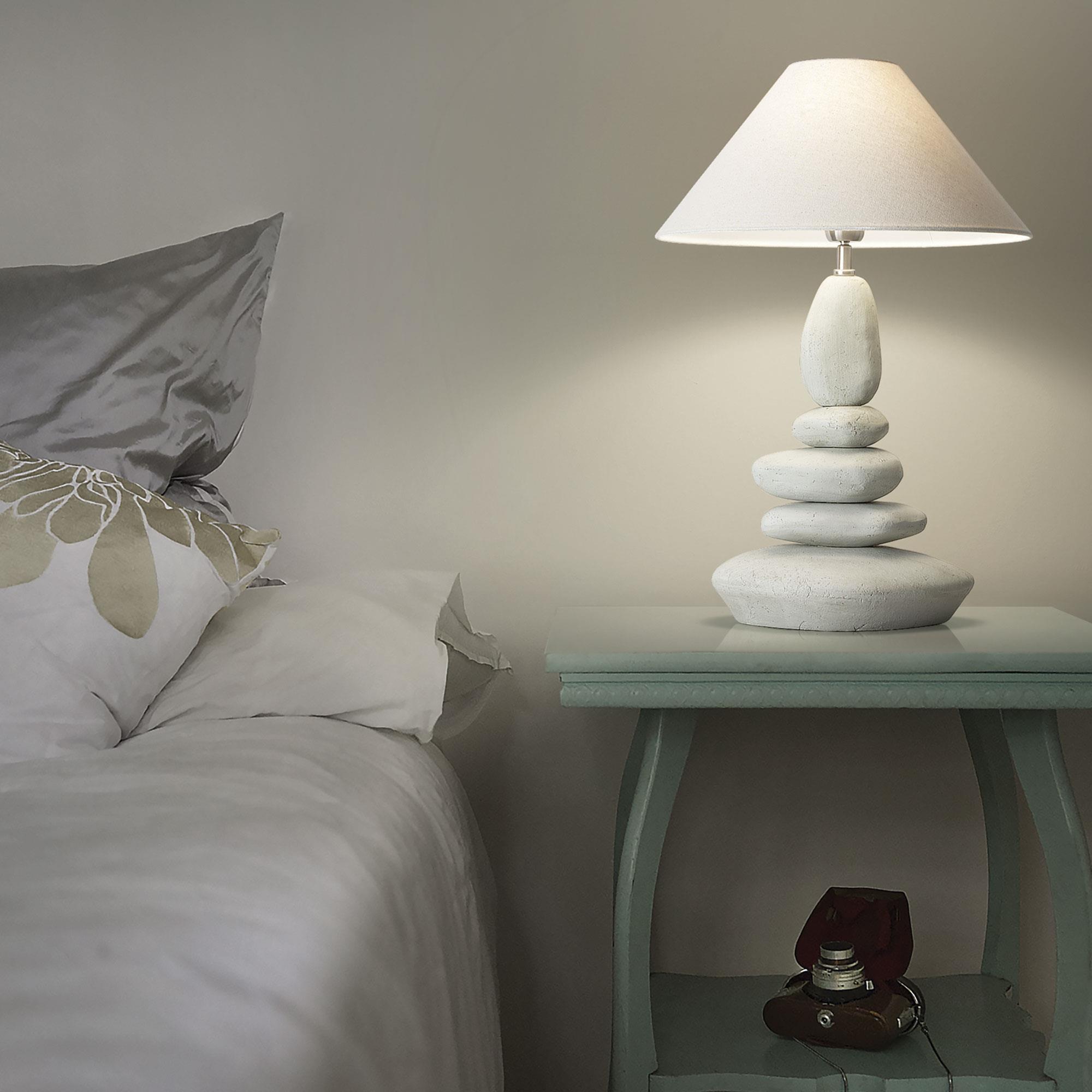 Ideal Lux 034942 Dolomiti TL1 Big ernyős asztali lámpa