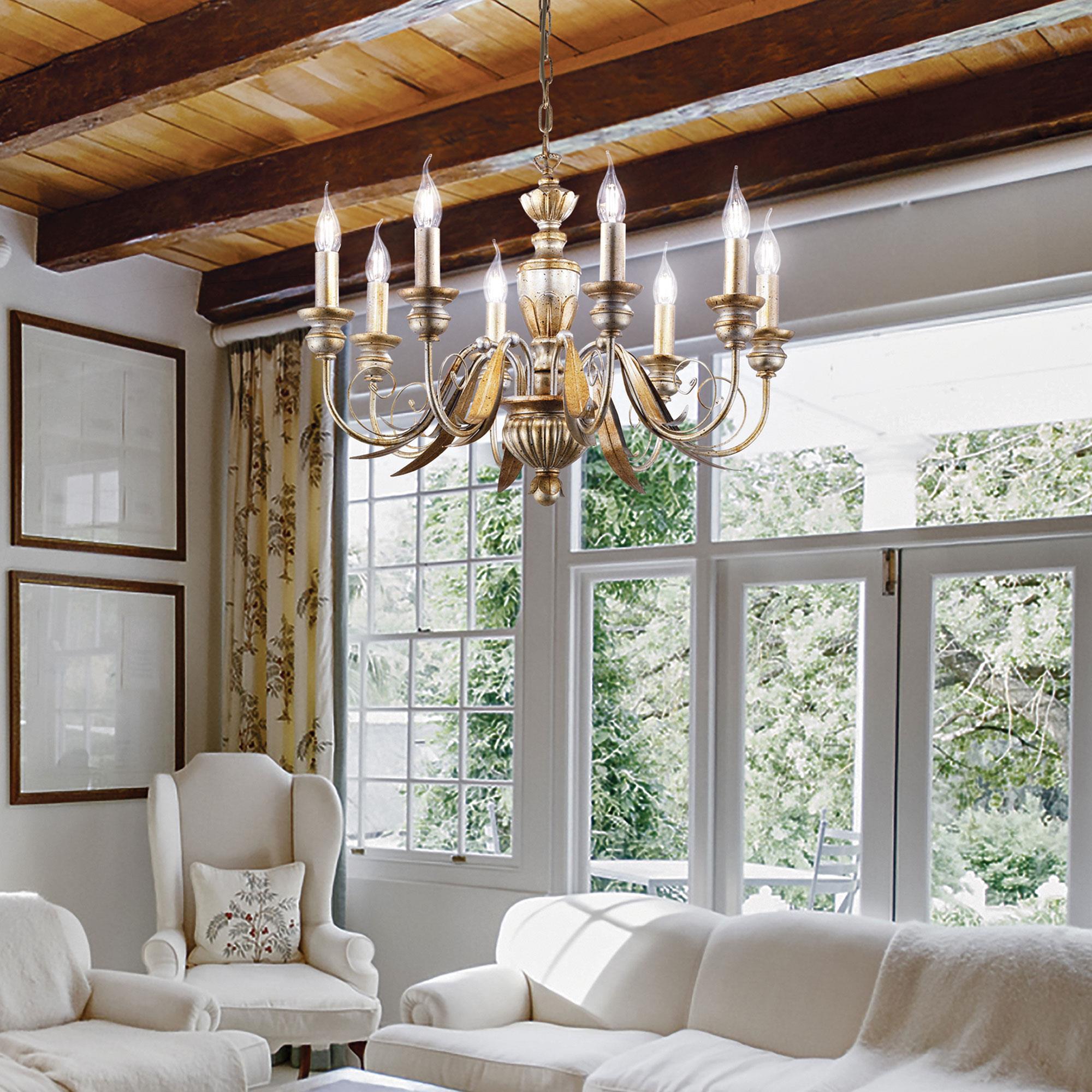 Ideal Lux 020839 Firenze SP8 Oro Antiko klasszikus csillárfüggeszték