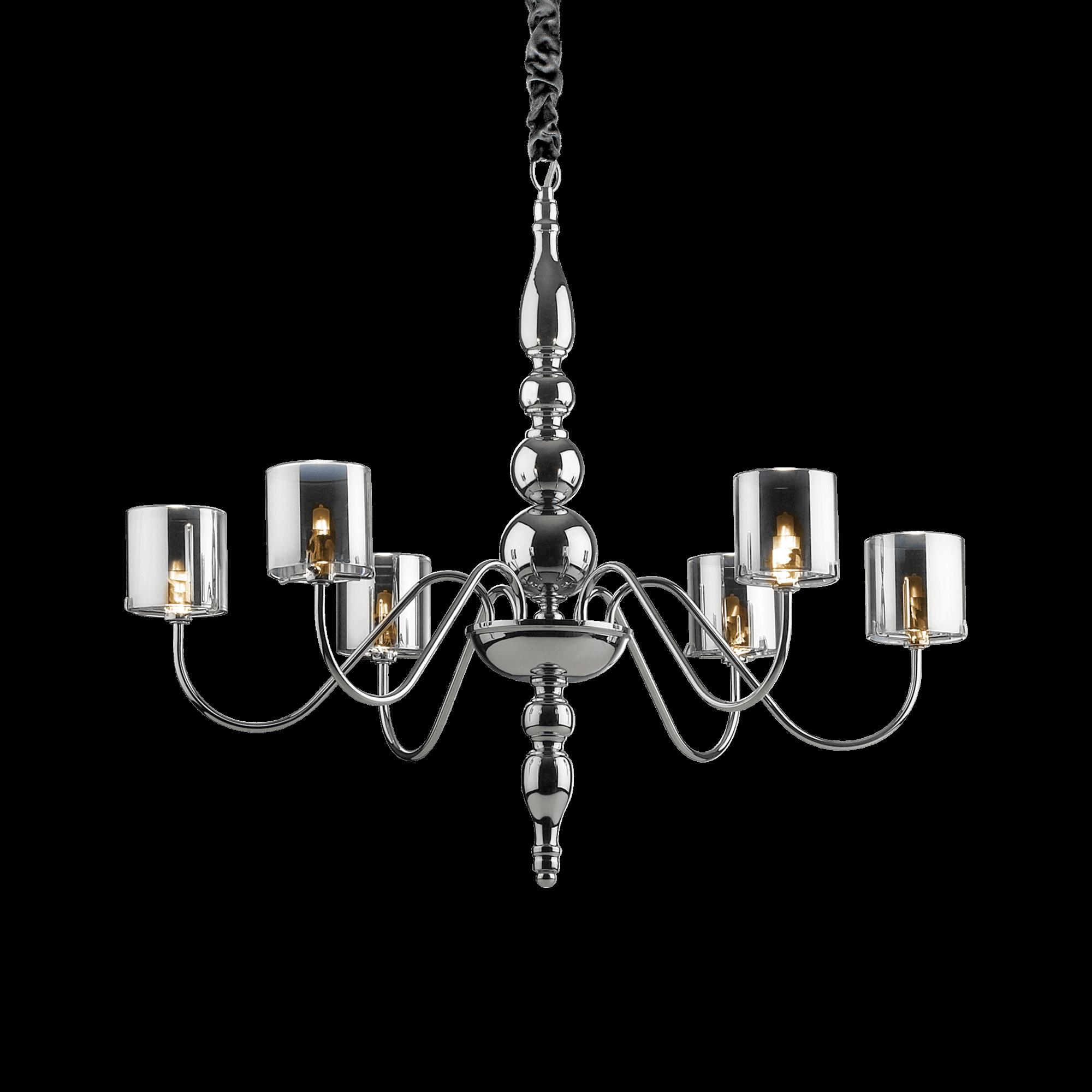 Ideal Lux 004556 Duca SP6 lámpa függeszték