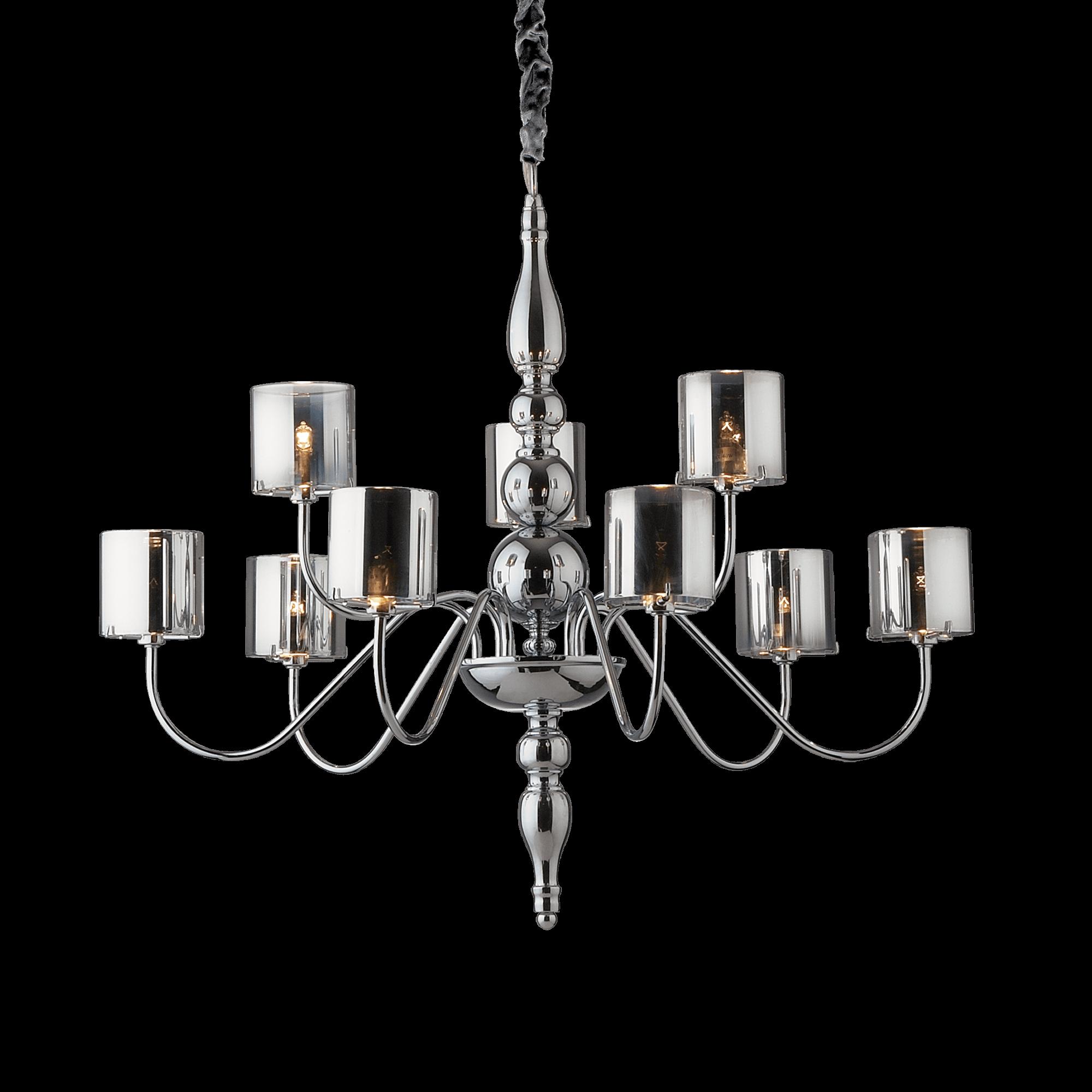 Ideal Lux 031712 Duca SP9 lámpa függeszték