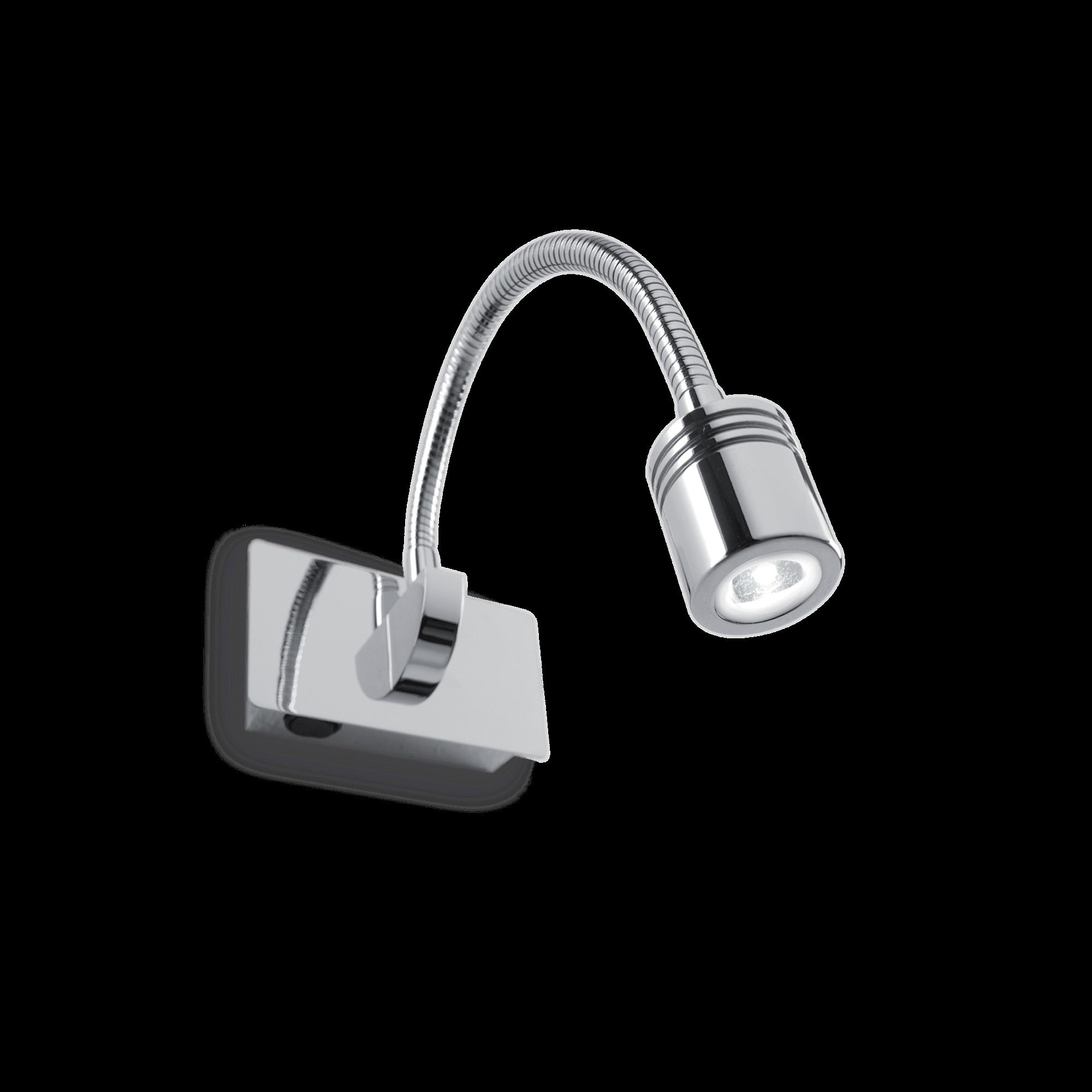 Ideal Lux 031460 Dynamo AP1 Cromo Led falilámpa