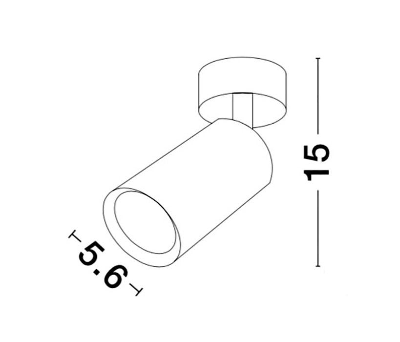 Nova Luce NL-9184312 Wan spotlámpa