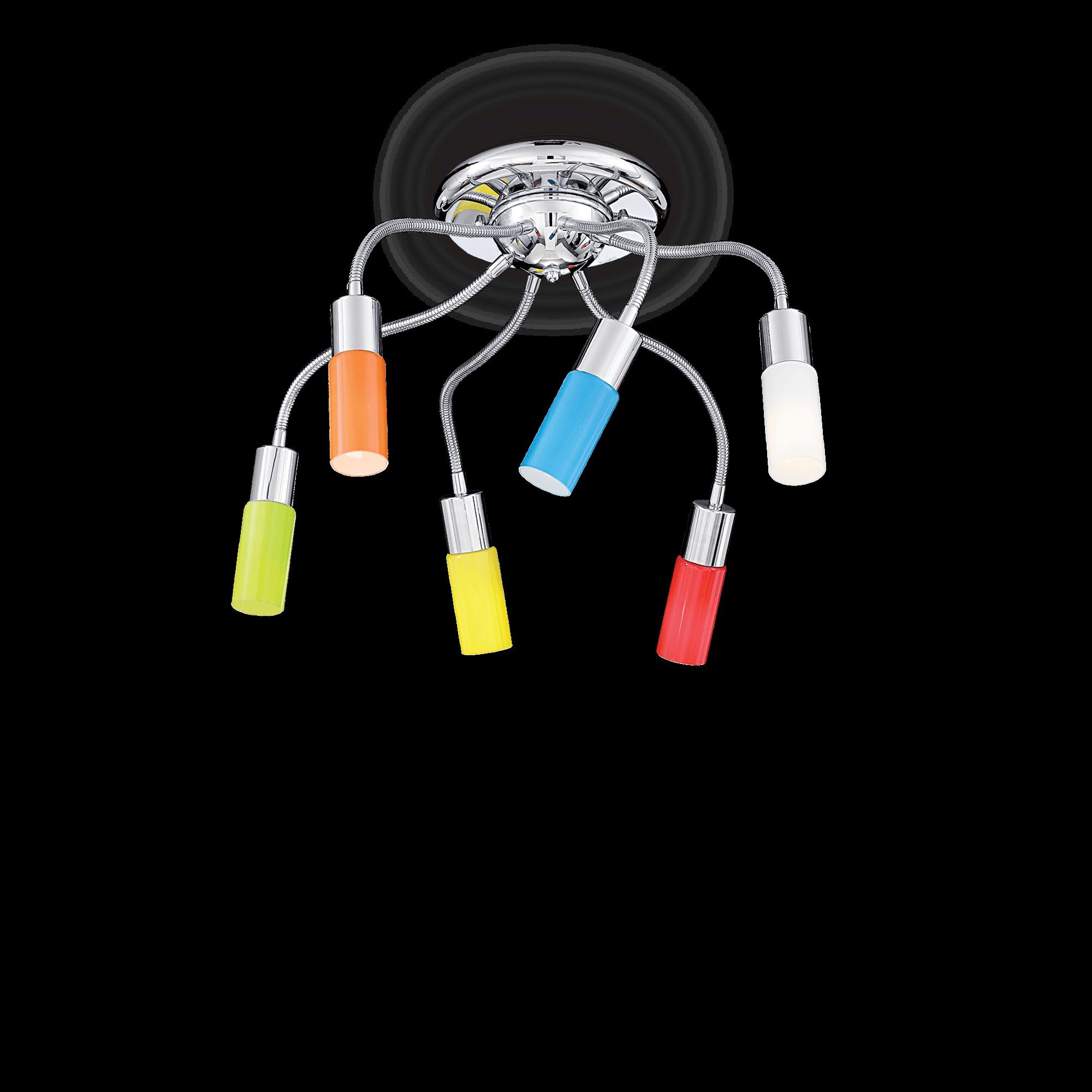 Ideal Lux 044538 Ecoflex PL6 mennyezeti lámpa