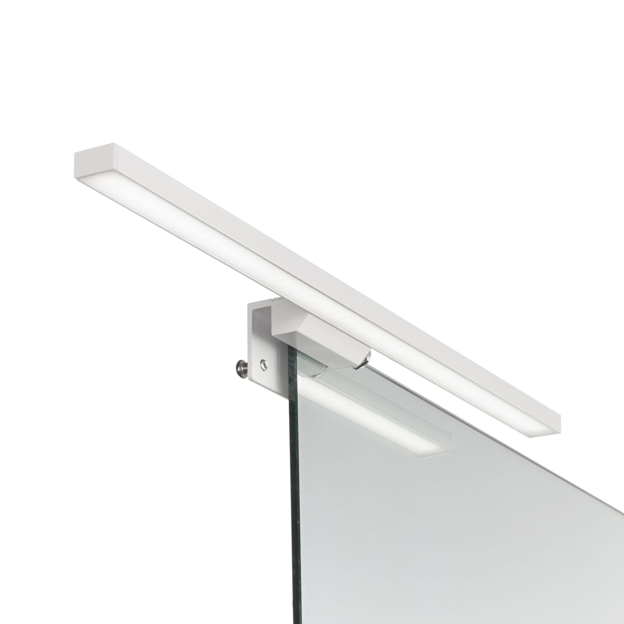 Ideal Lux 136592 EDGAR AP49 BIANCO fürdőszobai tükör falilámpa