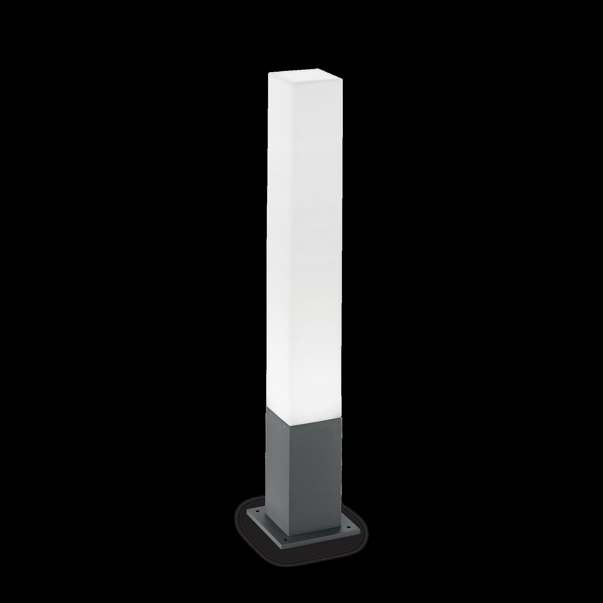 Ideal Lux 135762 Edo Outdoor PT1 Square Antracite kültéri állólámpa