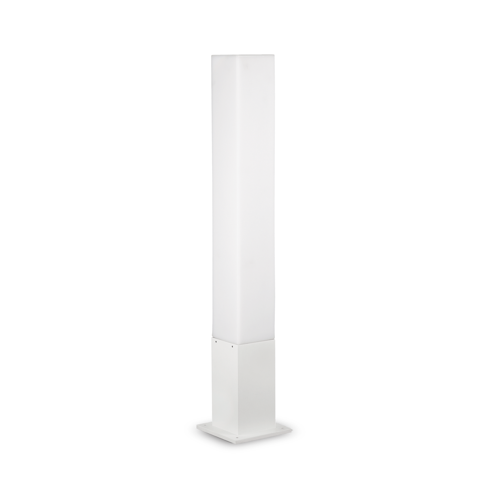 Ideal Lux 142999 Edo Outdoor PT1 Square Bianco kültéri állólámpa