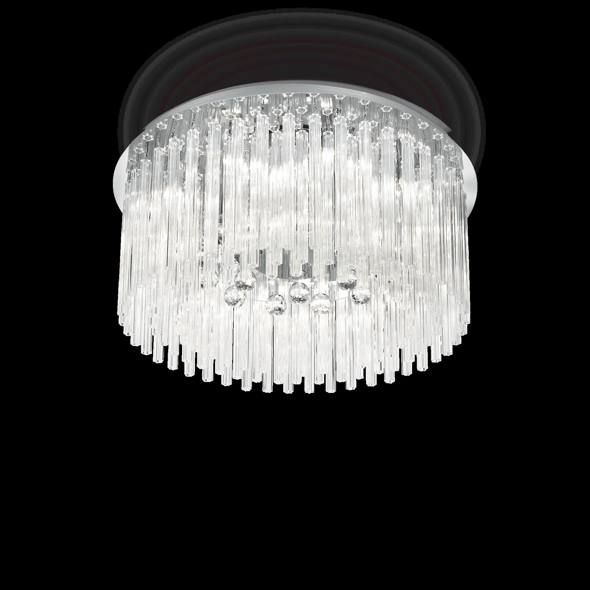 Ideal Lux 019468 Elegant PL12 mennyezeti lámpa