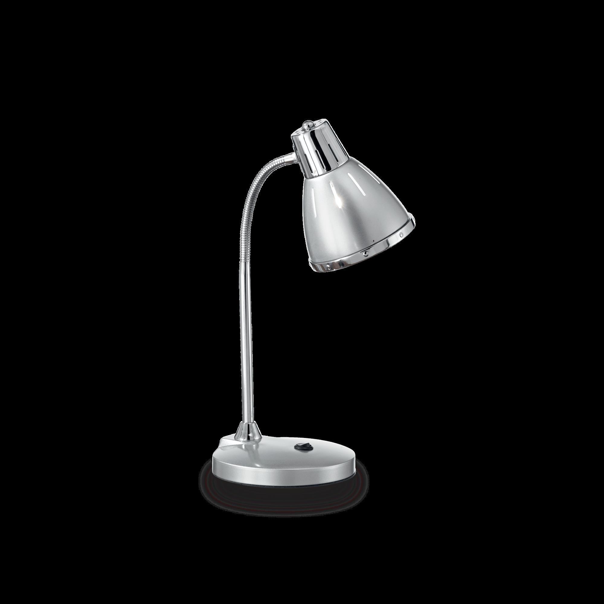 Ideal Lux 034416 Elvis TL1 Argento asztali lámpa