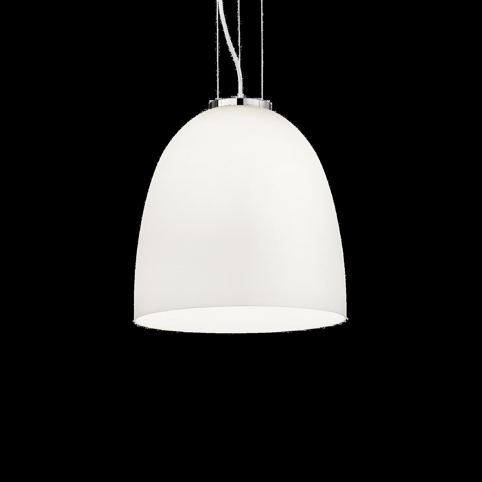 Ideal Lux 077703 Eva SP1 Big Bianco lámpa függeszték