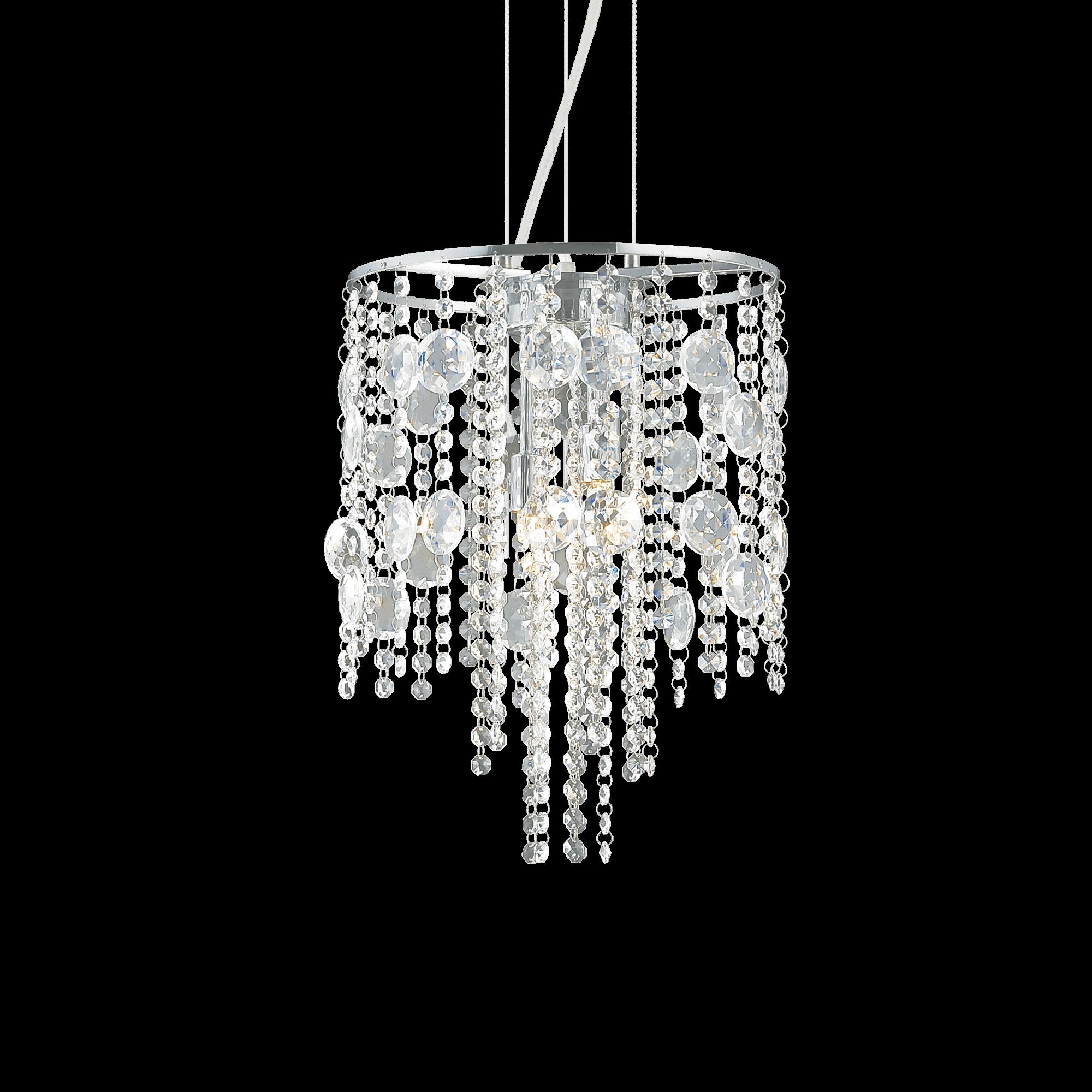 Ideal Lux 062211 Evasione SP4 kristály függeszték