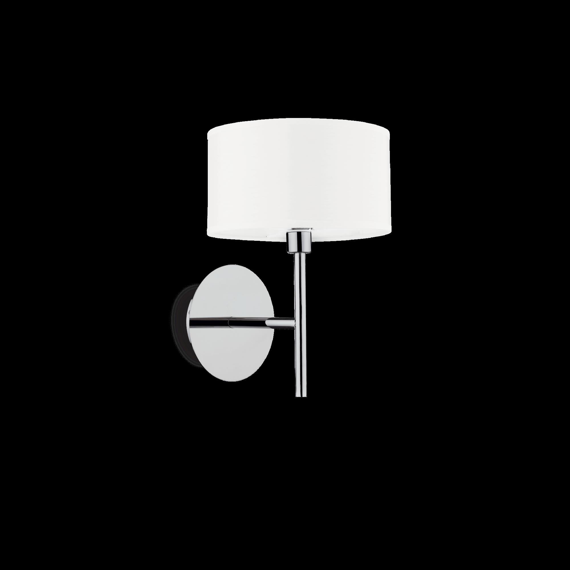 Ideal Lux 143156 WOODY AP1 BIANCO falilámpa