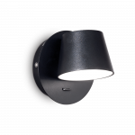 Ideal Lux 167121 GIM AP1 NERO falilámpa