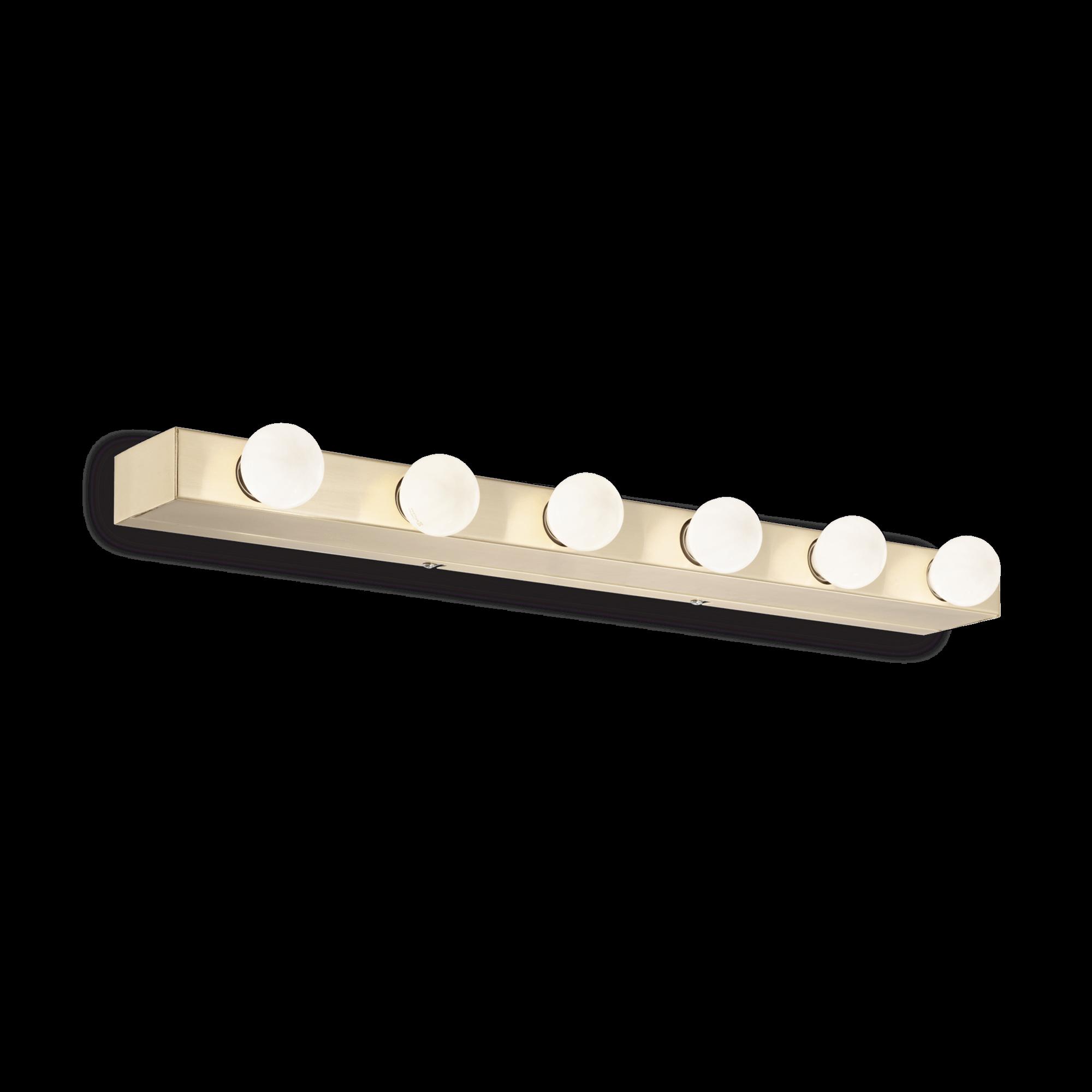 Ideal Lux 179681 PRIVE' AP6 OTTONE falilámpa