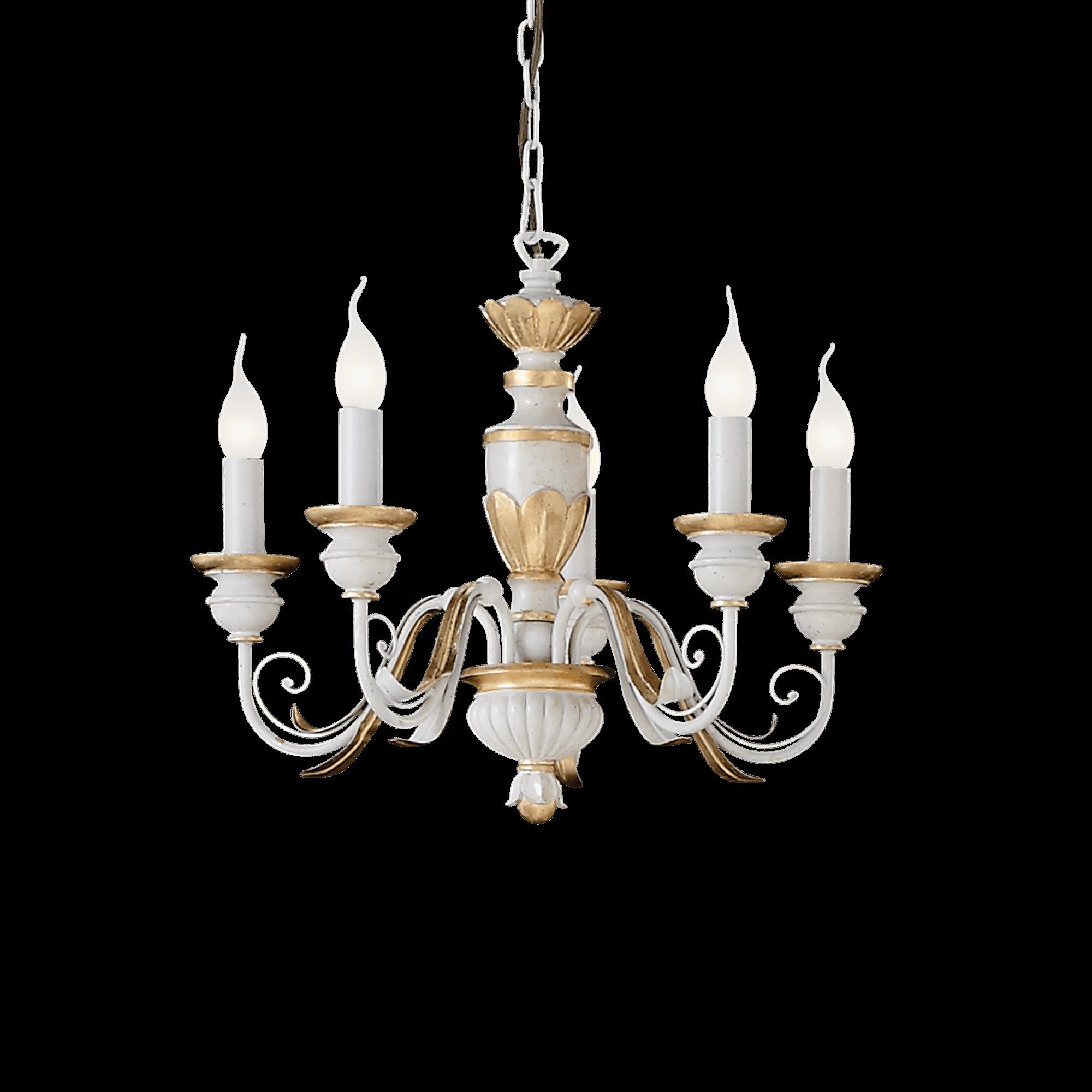 Ideal Lux 012865 Firenze SP5 csillár függeszték