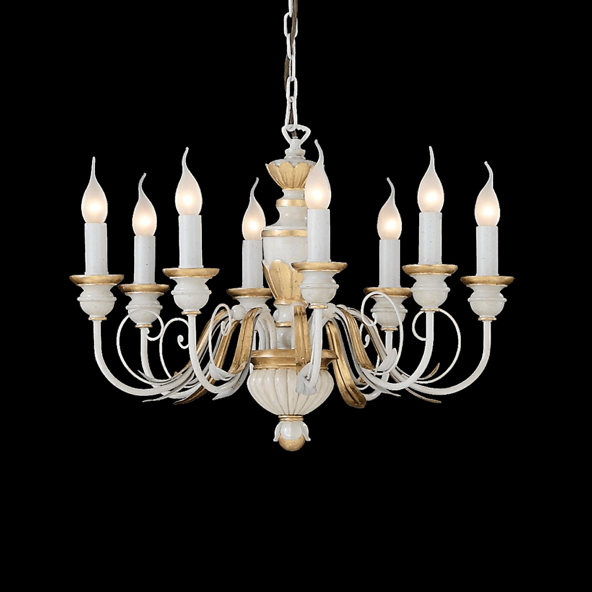 Ideal Lux 012872 Firenze SP8 csillár függeszték