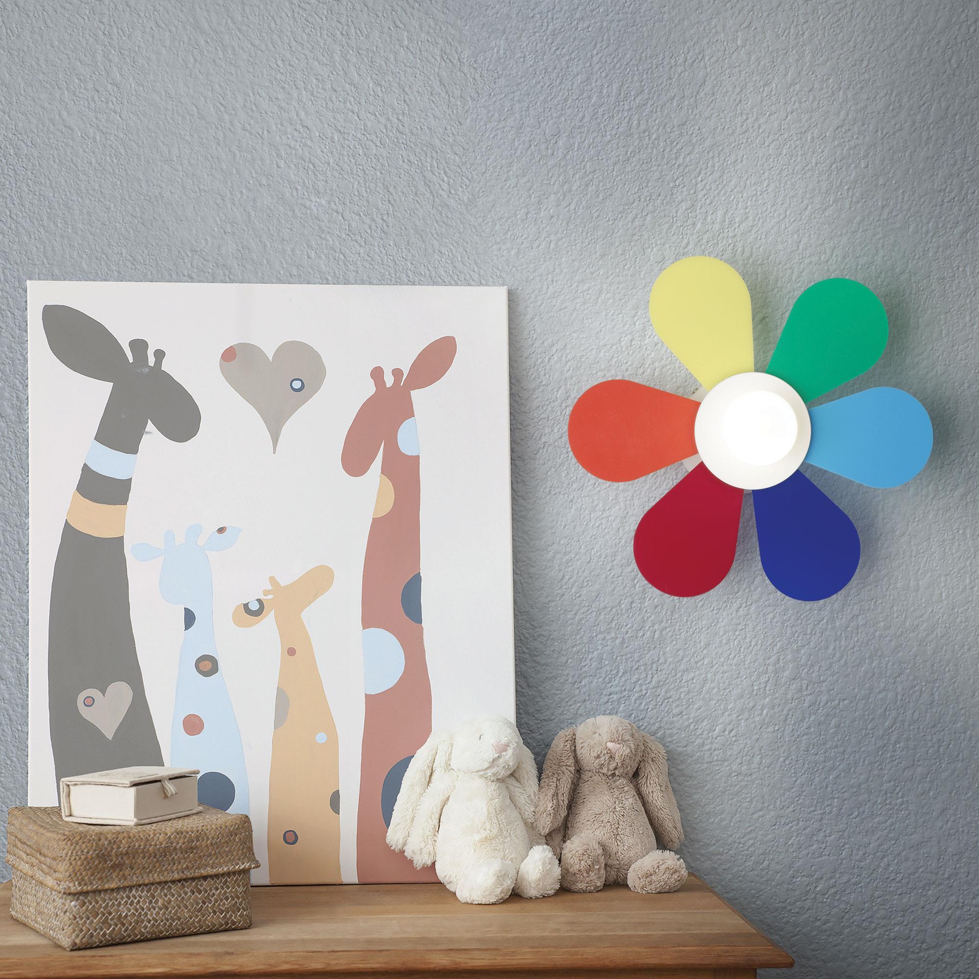 Ideal Lux 141329 FLOWER AP1 D30  falilámpa