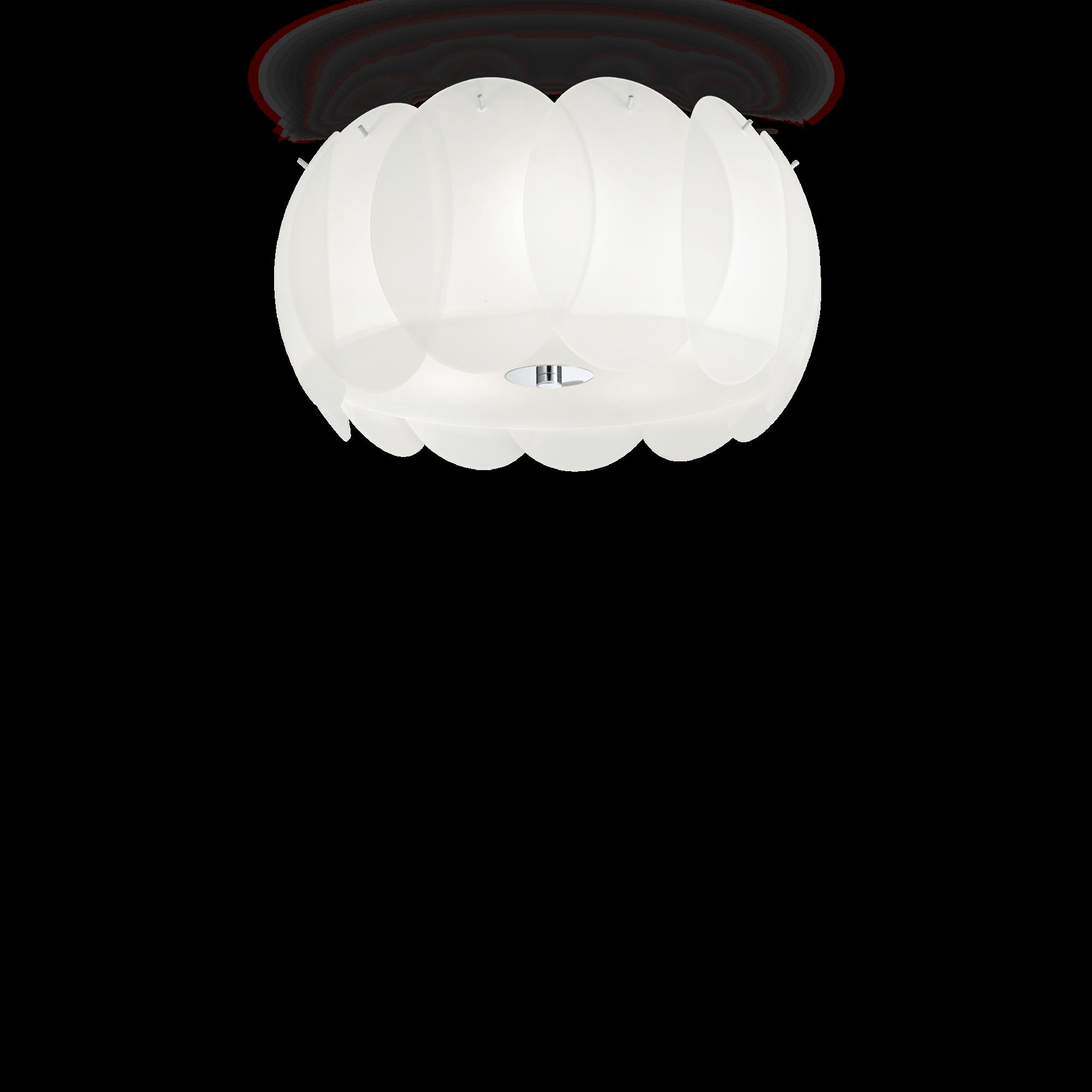 Ideal Lux 093963 Ovalino PL5 mennyezeti lámpa