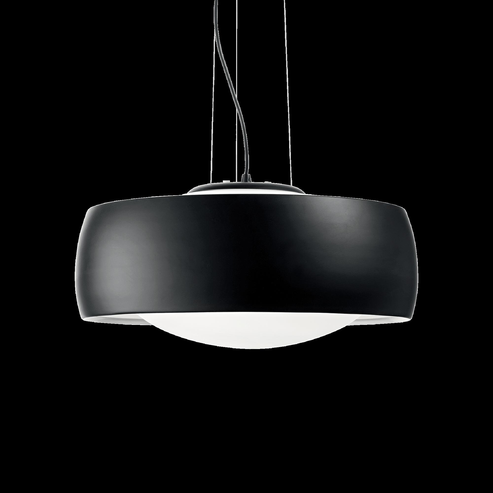 Ideal Lux 186832 COMFORT SP1 NERO függeszték