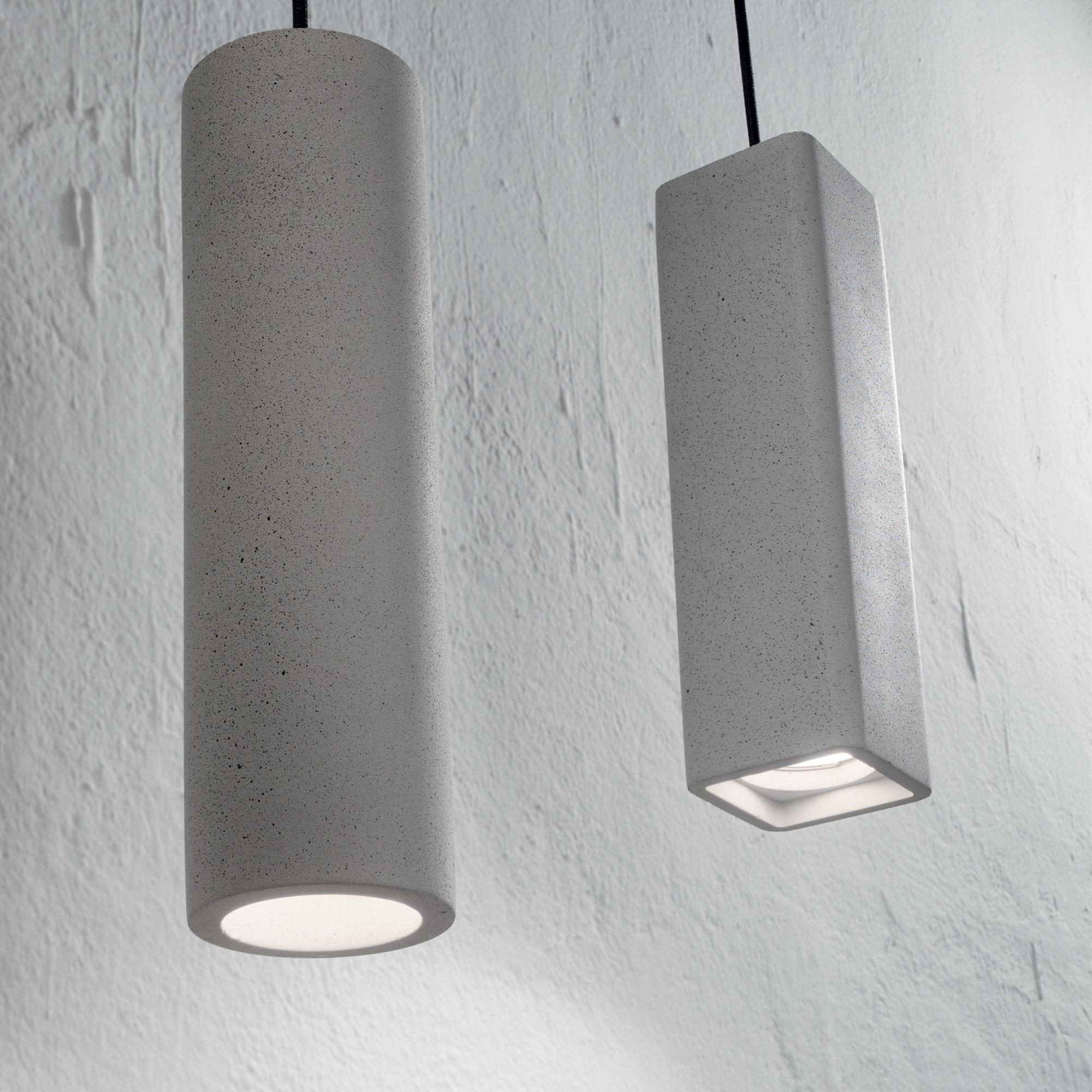 Ideal Lux 150635 OAK SP1 ROUND CEMENTO függeszték