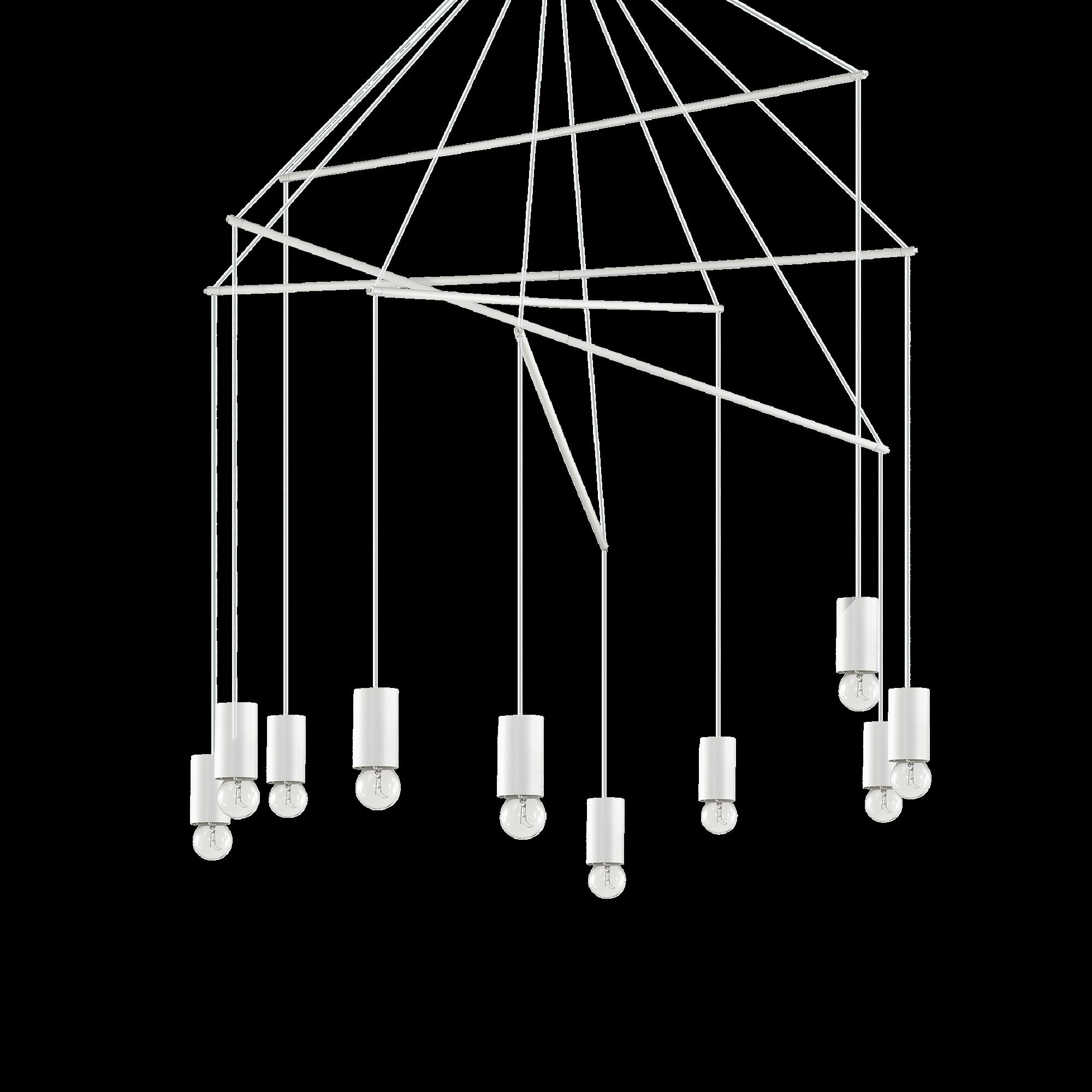 Ideal Lux 186801 POP SP10 BIANCO függeszték