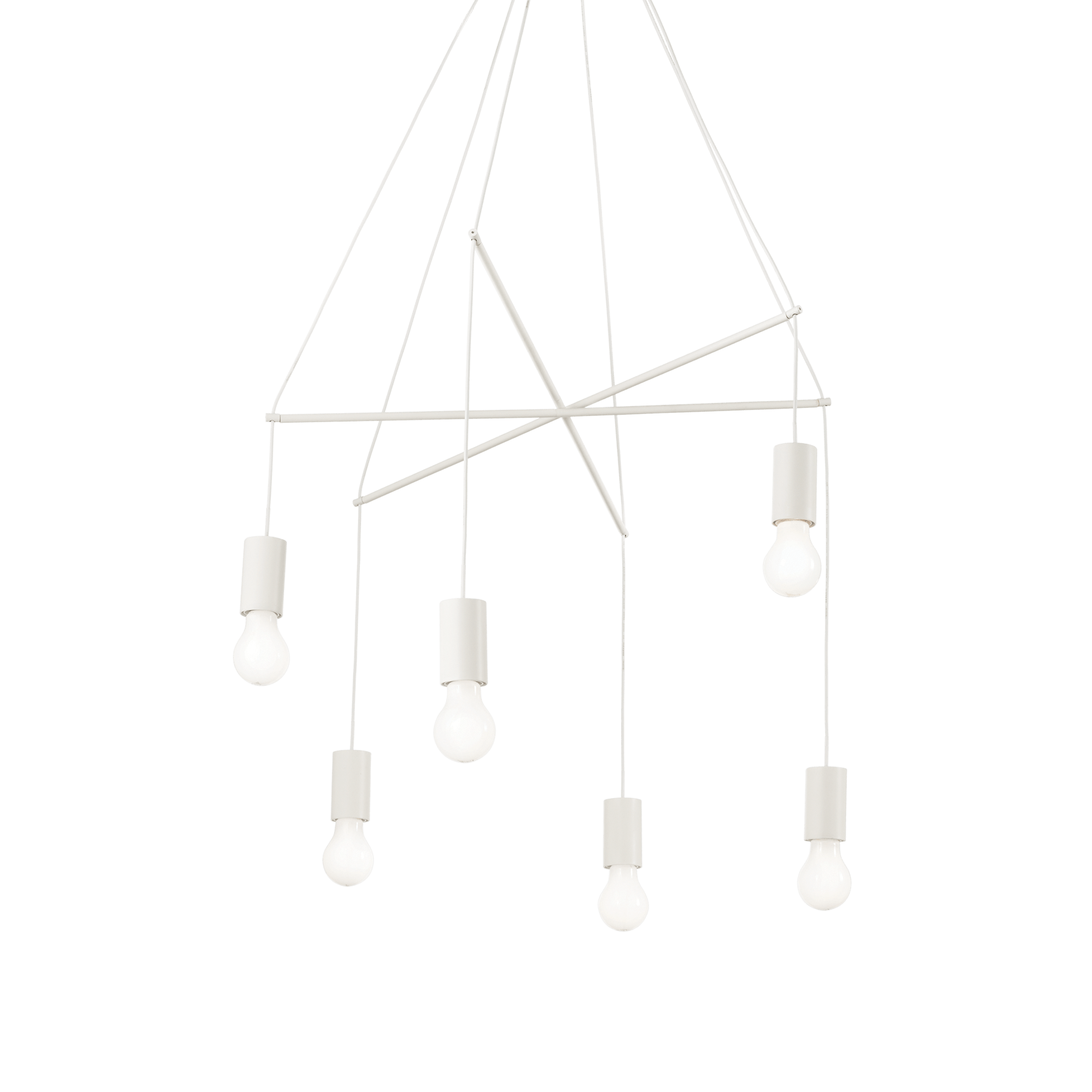 Ideal Lux 186795 POP SP6 BIANCO függeszték