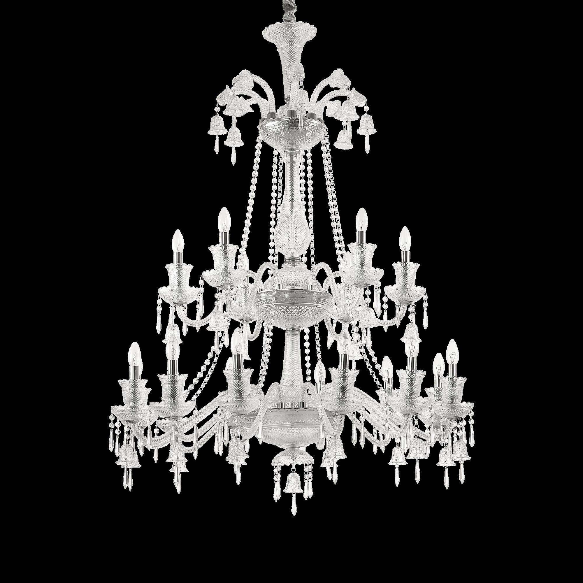 Ideal Lux 176291 REDENTORE SP18 kristály függeszték