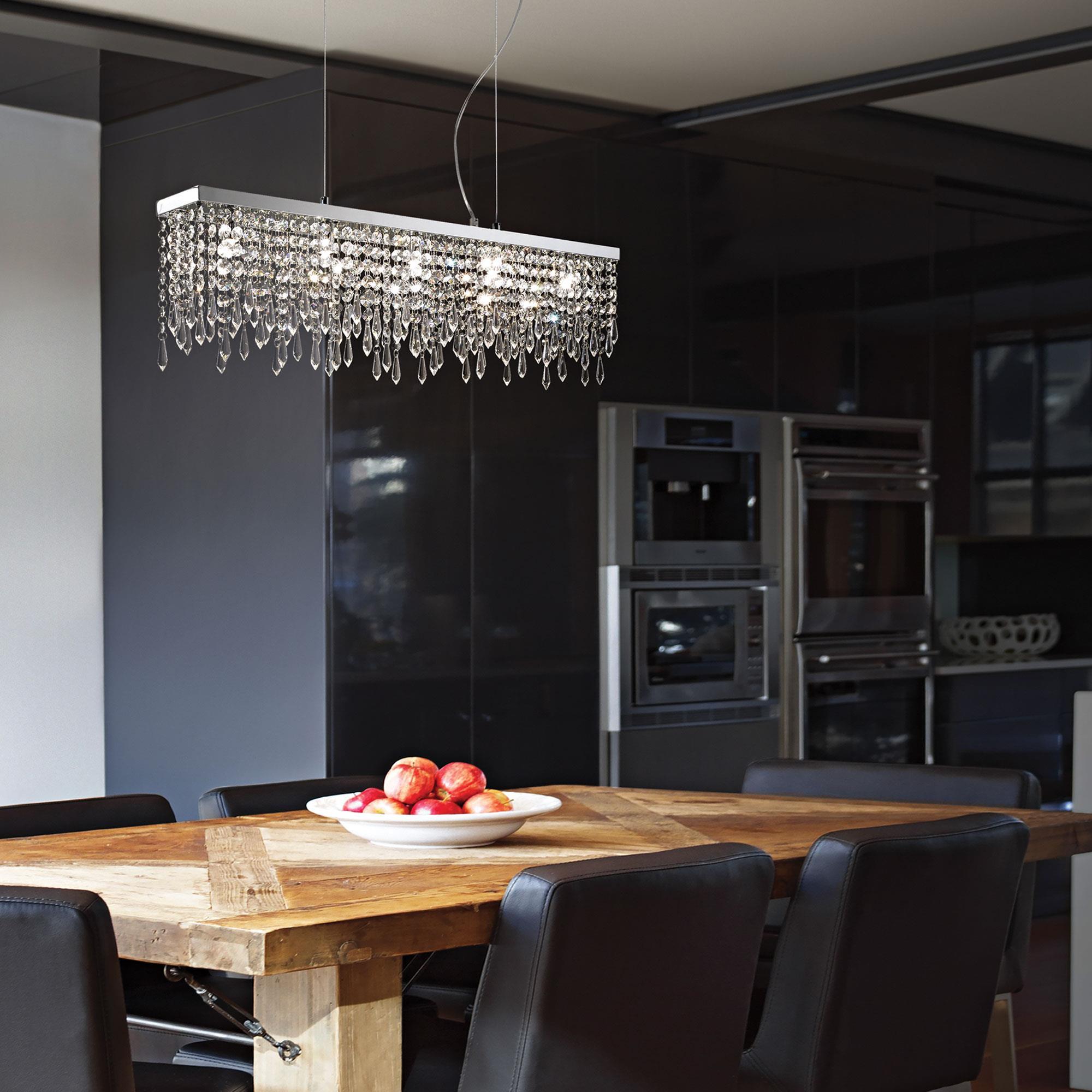 Ideal Lux 098722 Giada Clear SP5 kristály függeszték