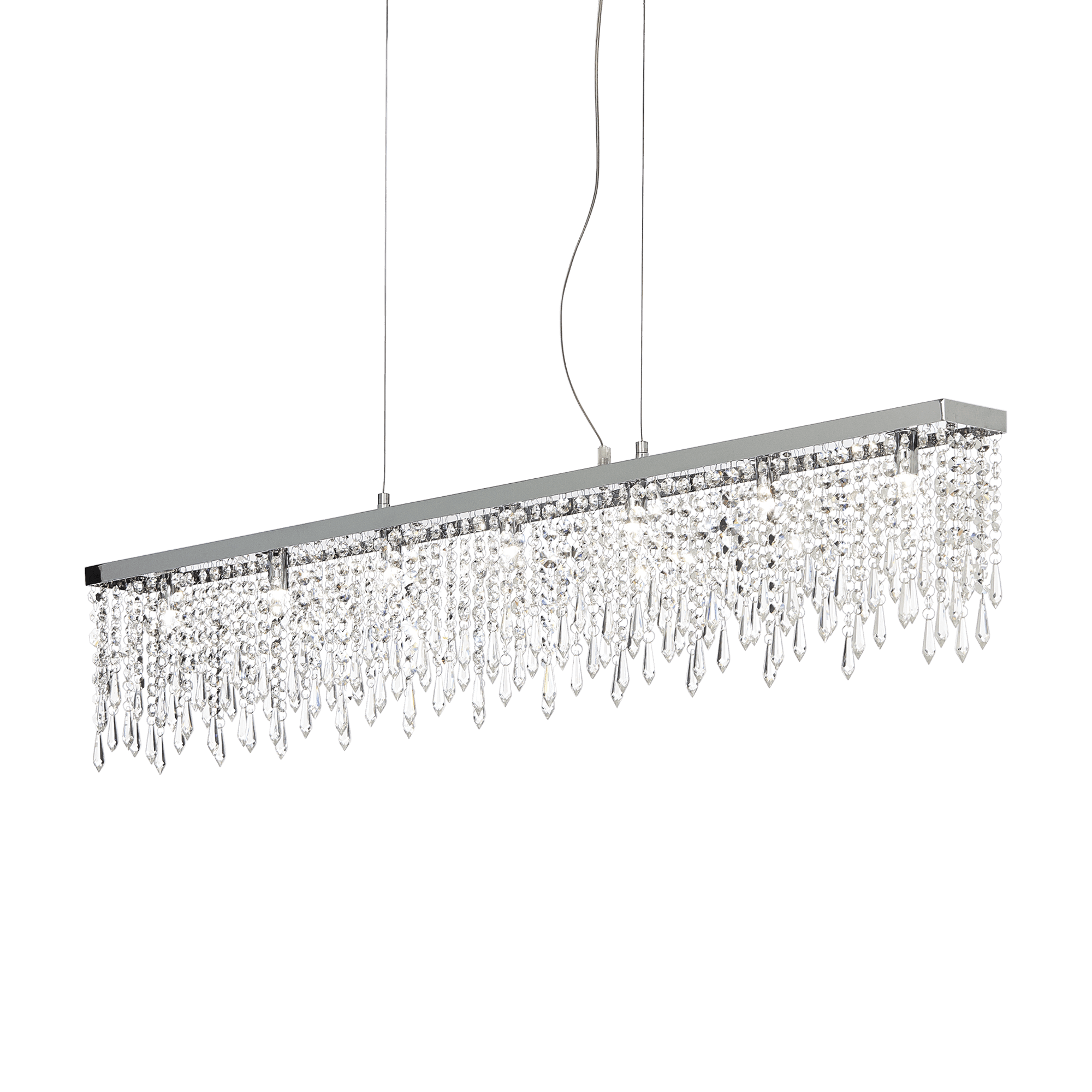 Ideal Lux 098739 Giada Clear SP7 kristály függeszték