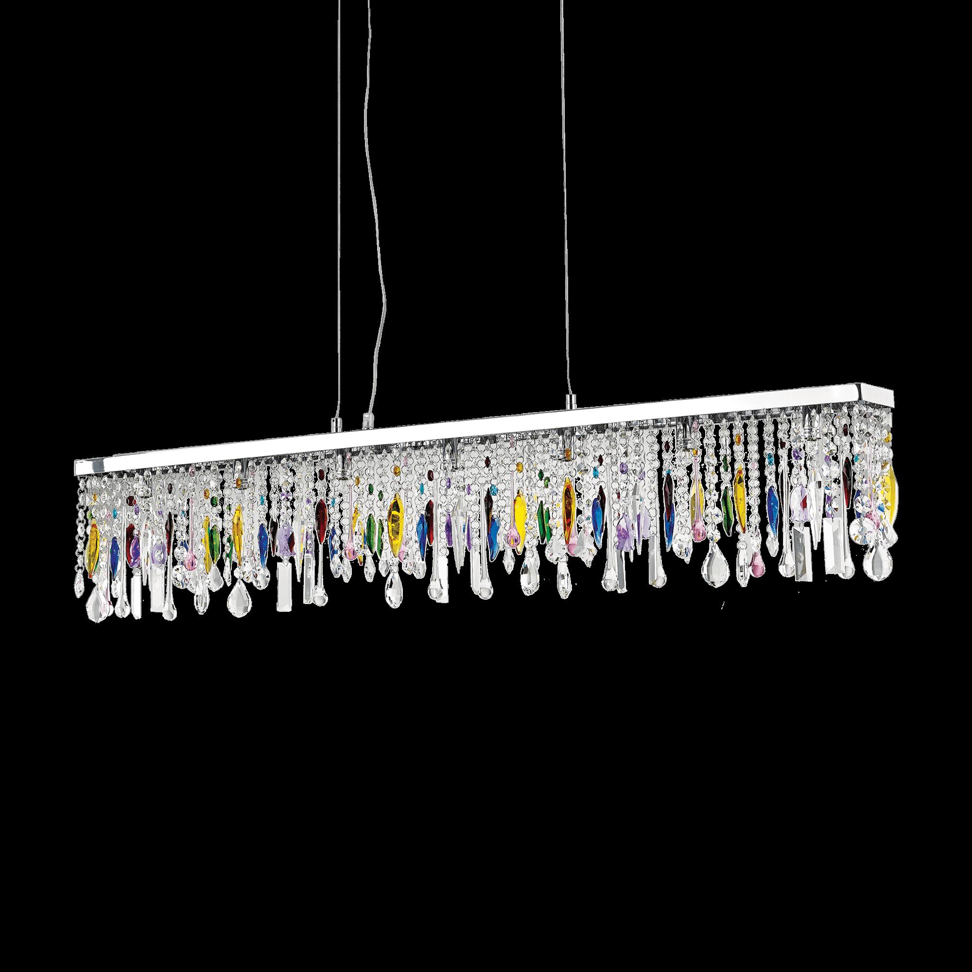 Ideal Lux 099170 Giada SP7 Color kristály függeszték