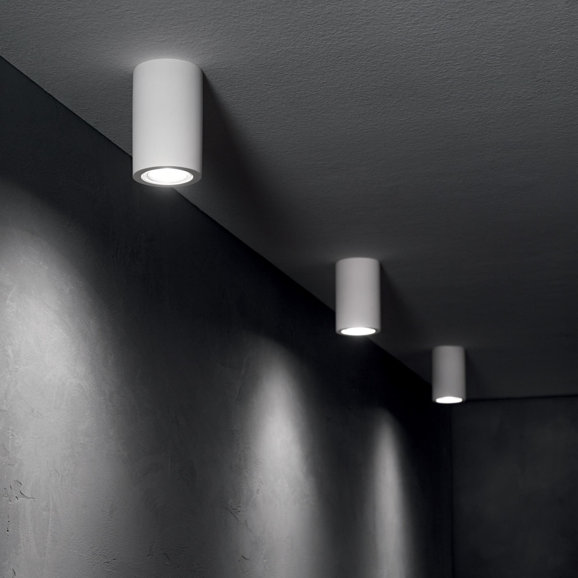 Ideal Lux 155869 TOWER PL1 ROUND gipsz mennyezeti lámpa