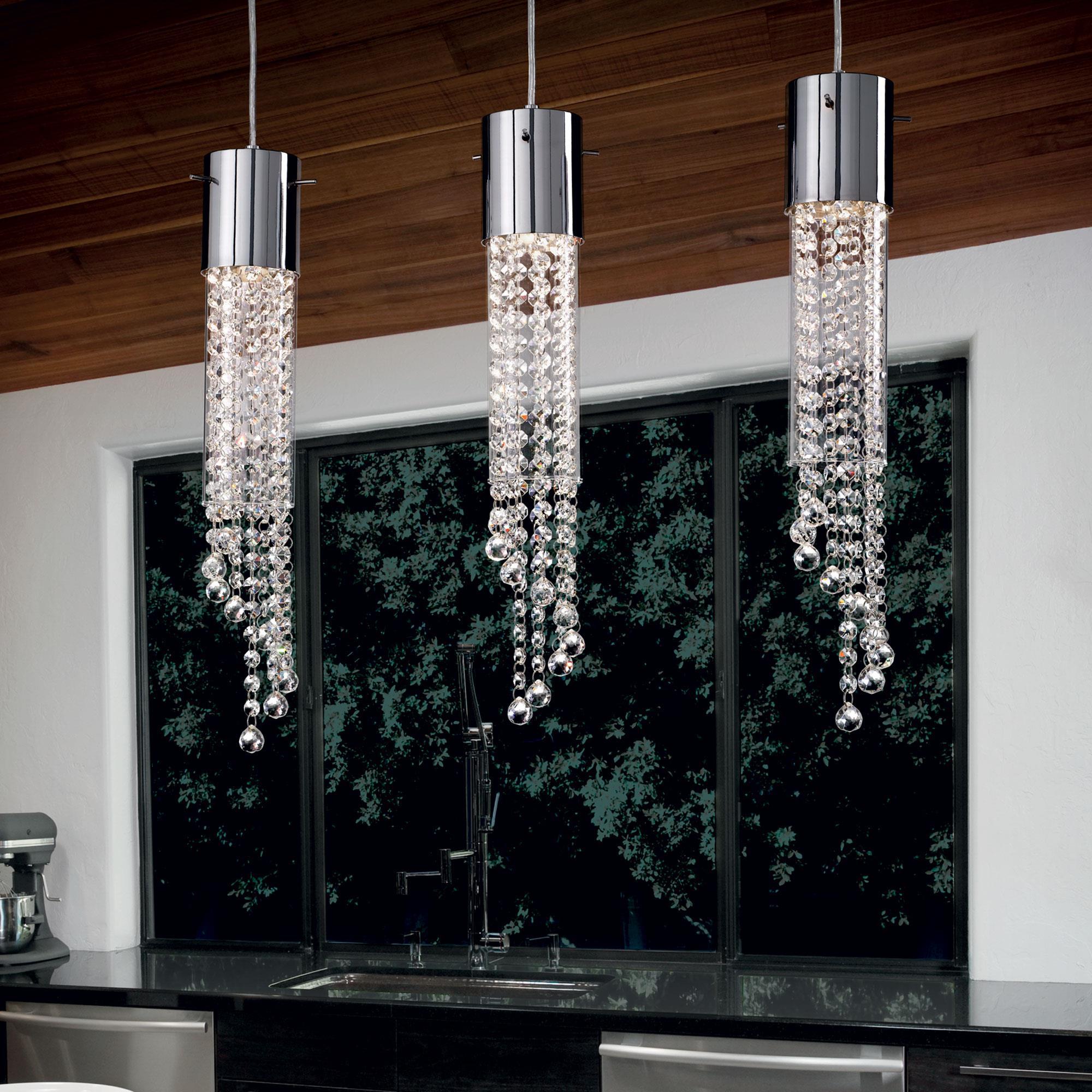 Ideal Lux 091143 Gocce SB3 kristálycsillár