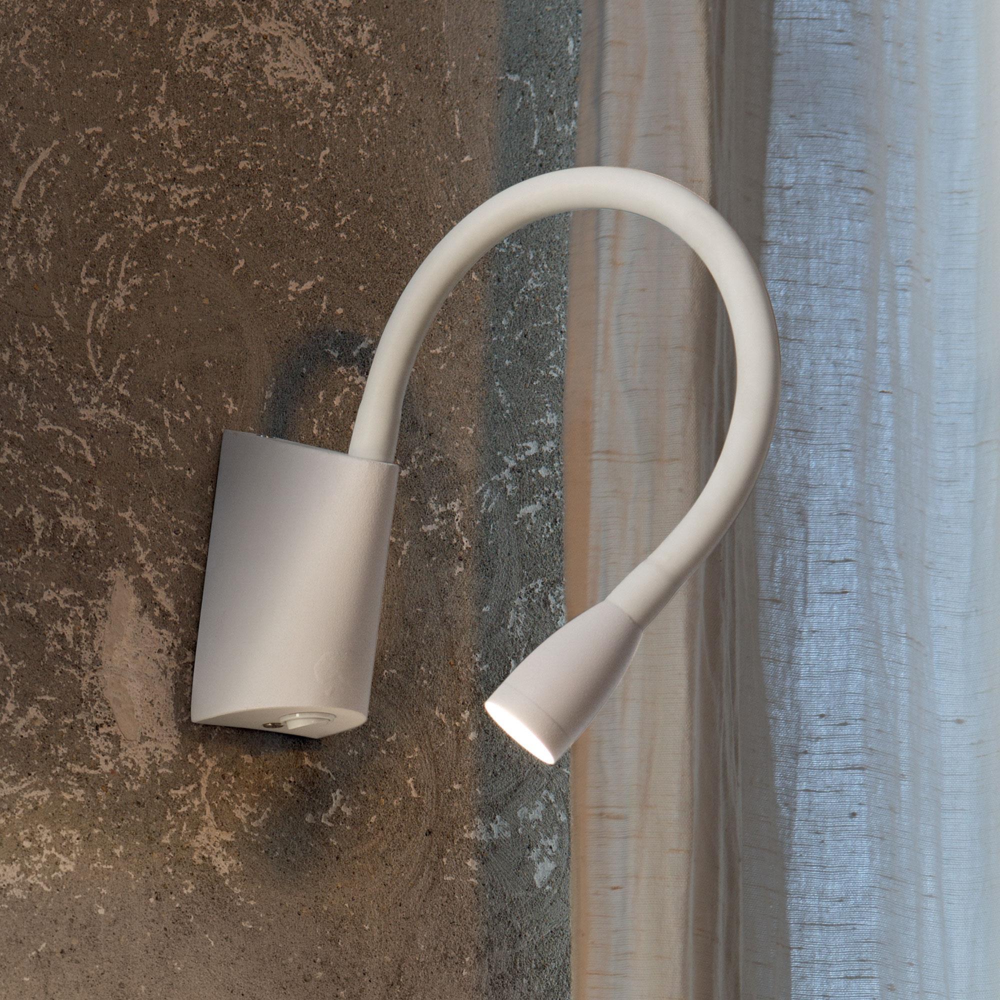 Ideal Lux 142708 GOOSE AP1 BIANCO LED olvasó falikar
