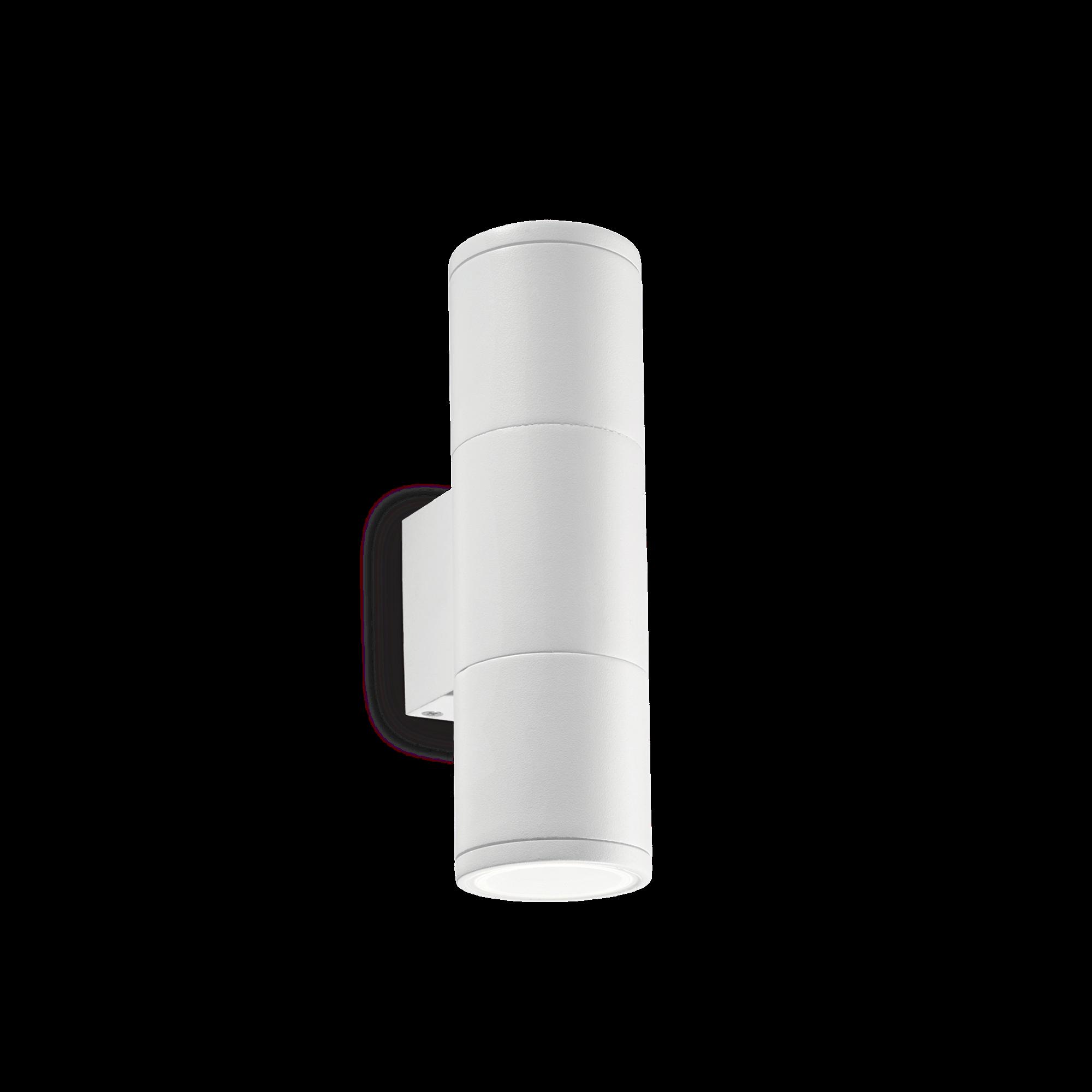 Ideal Lux 100388 Gun AP2 Small Bianco kültéri falilámpa