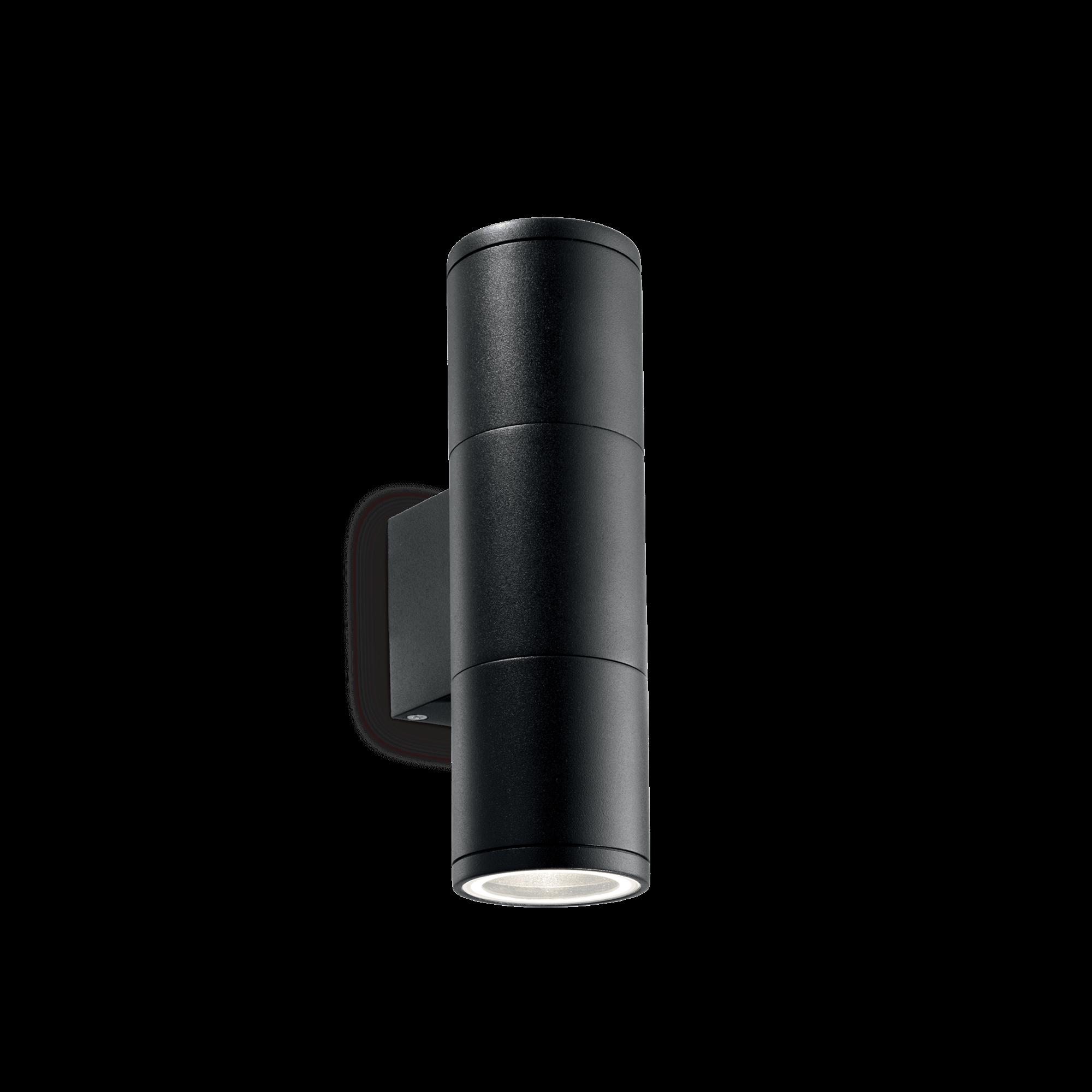 Ideal Lux 100395 Gun AP2 Small Nero kültéri falilámpa