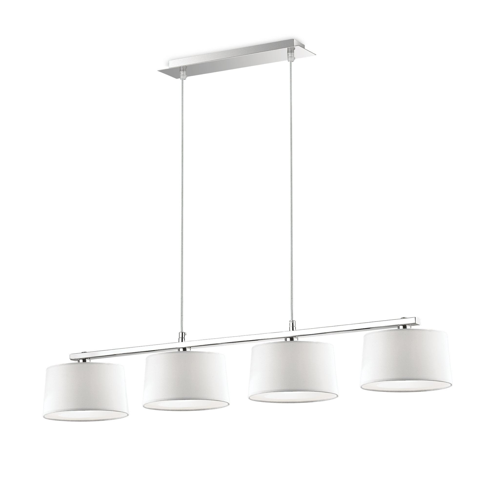 Ideal Lux 075495 Hilton SP4 Linear Bianco lámpa függeszték