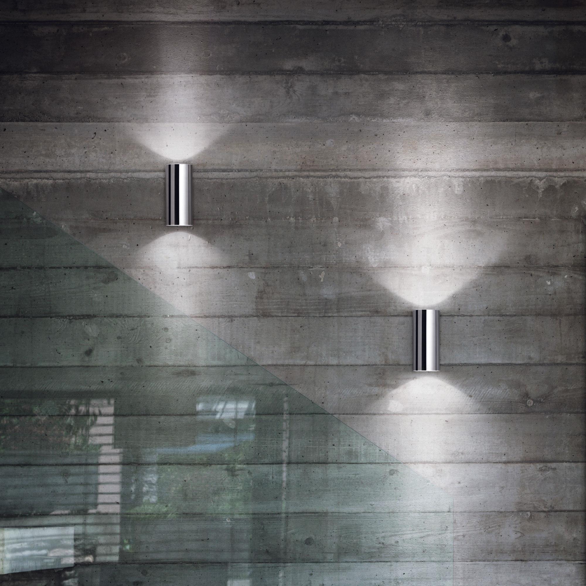 Ideal Lux 094182 Hot AP2 Cromo falilámpa