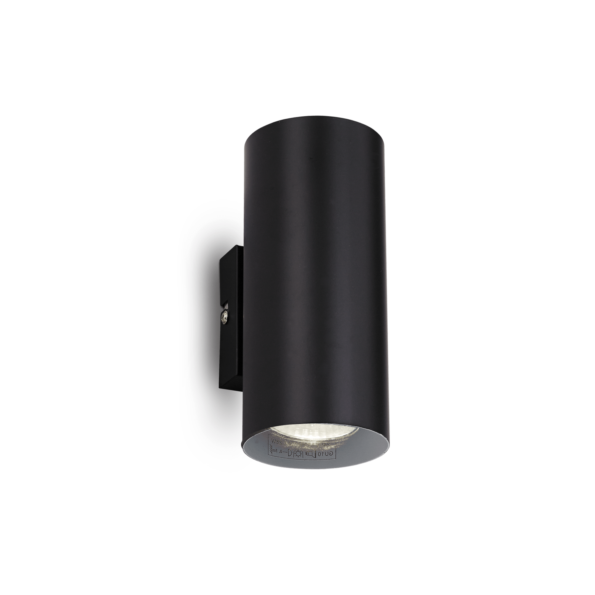 Ideal Lux 095998 Hot AP2 Nero falilámpa