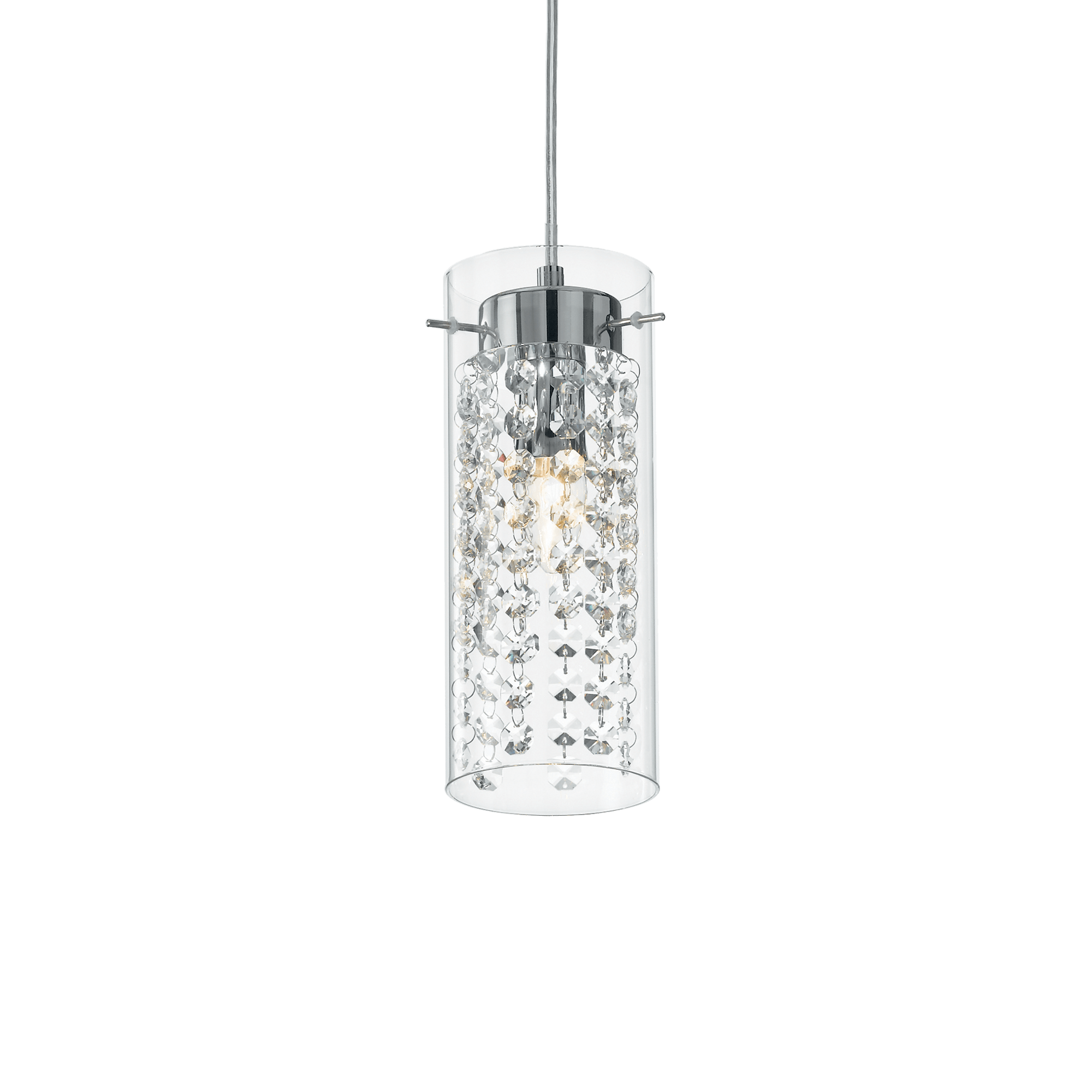 Ideal Lux 052359 Iguazú SP1 kristály lámpa függeszték