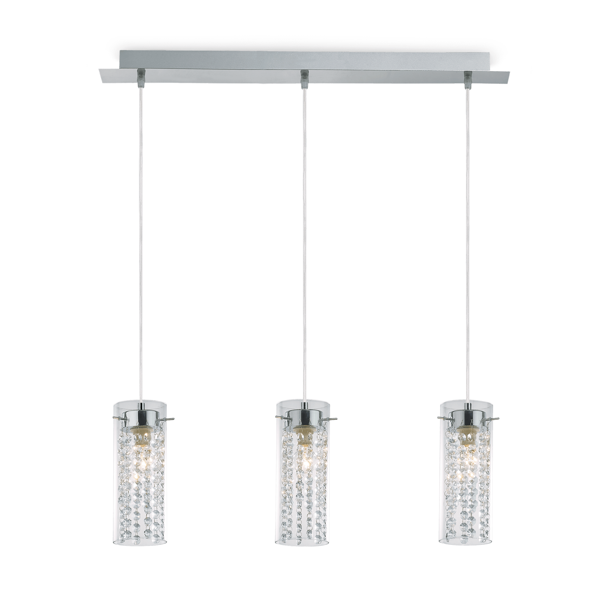 Ideal Lux 052366 Iguazú SP3 kristály lámpa függeszték