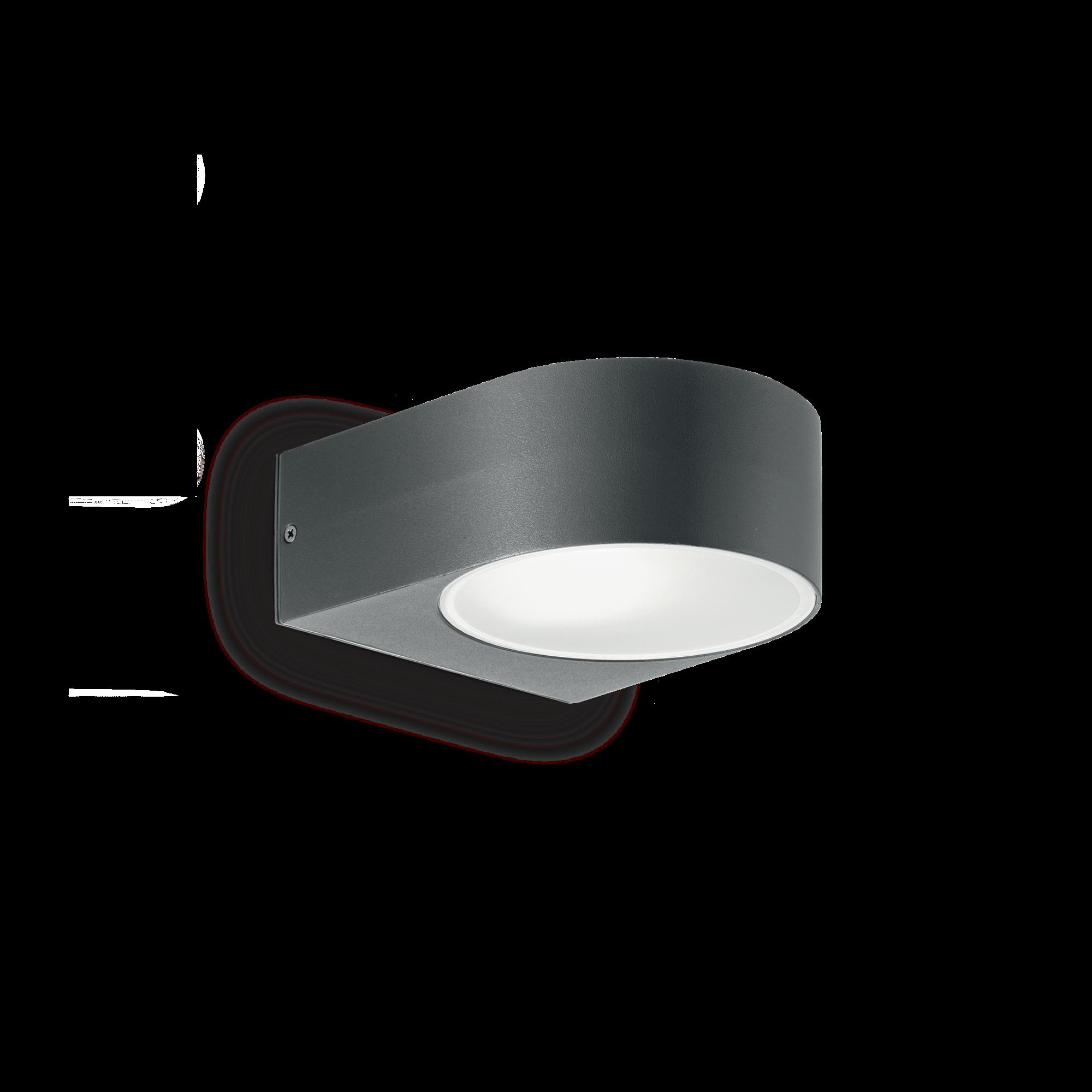 Ideal Lux 018515 Iko AP1 Antracite kerti falilámpa