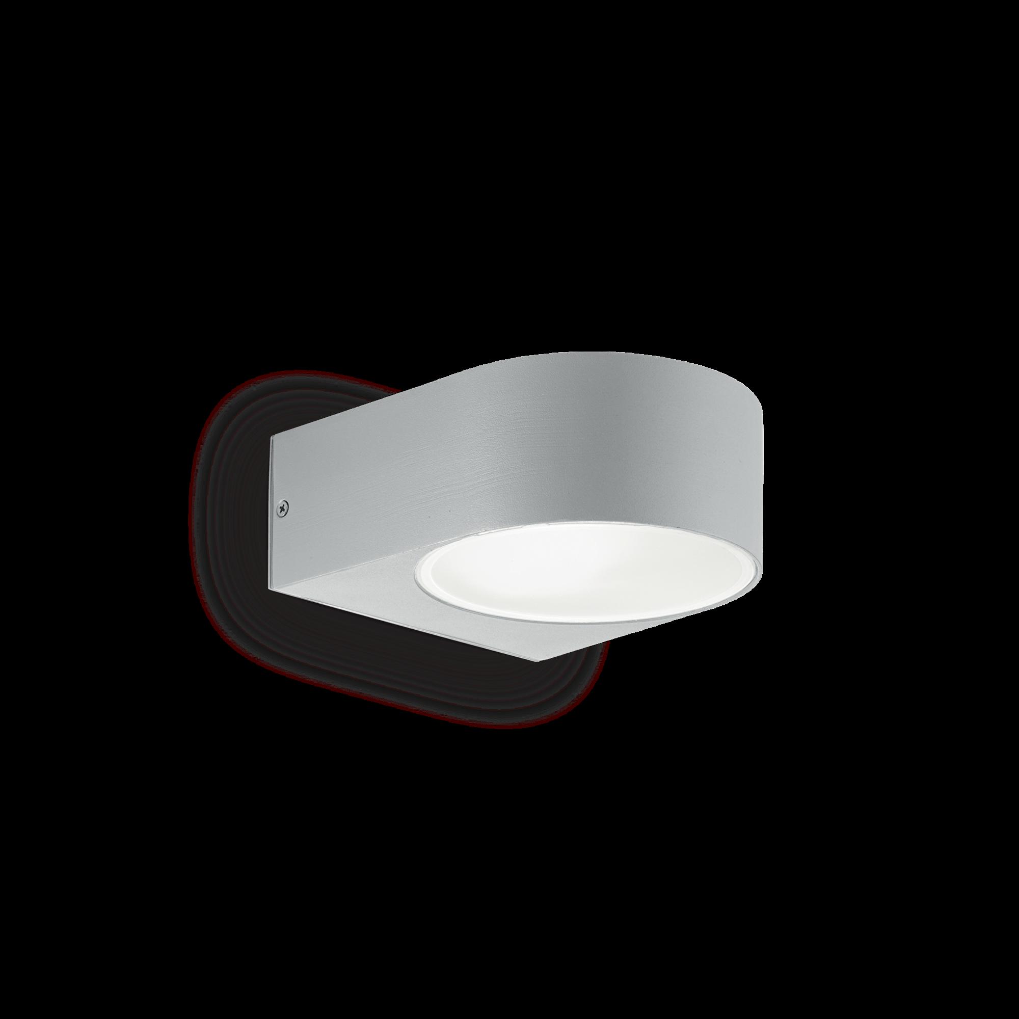 Ideal Lux 092218 Iko AP1 Grigio kerti falilámpa