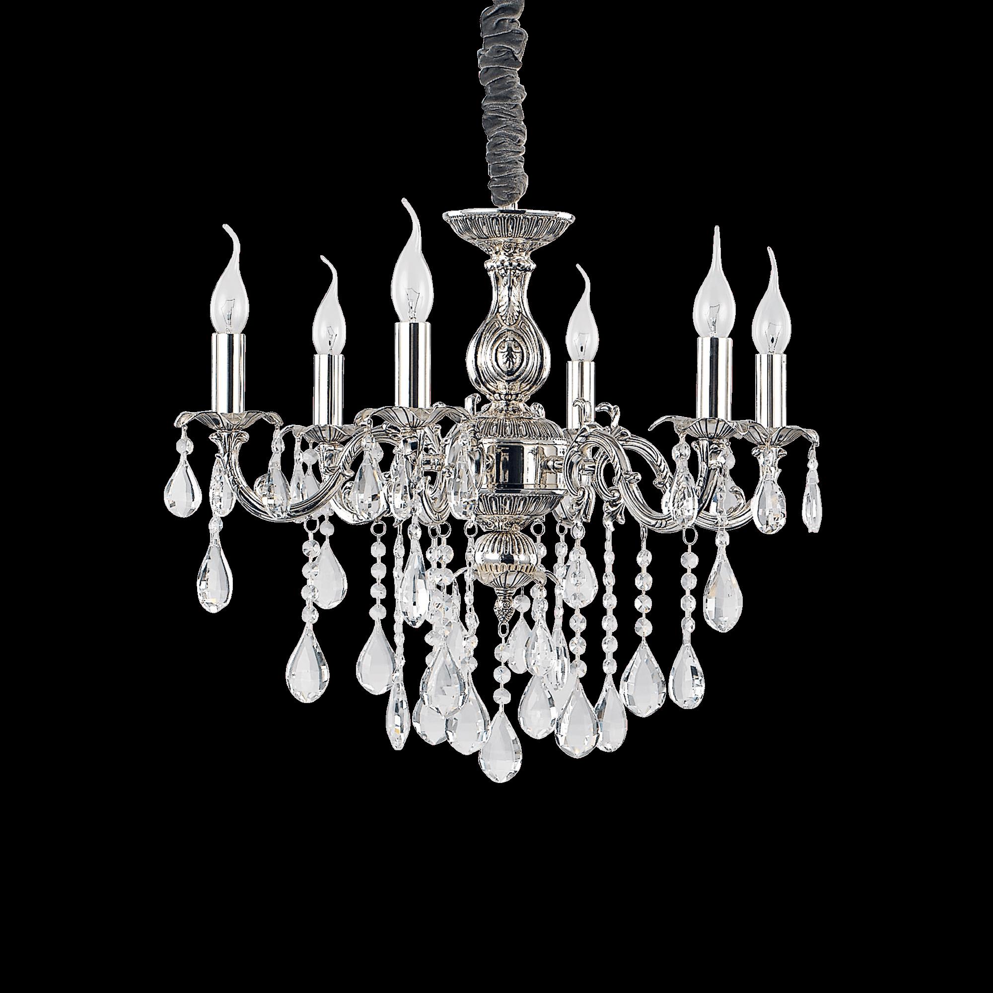 Ideal Lux 002408 Impero SP6 kristály csillár lámpa