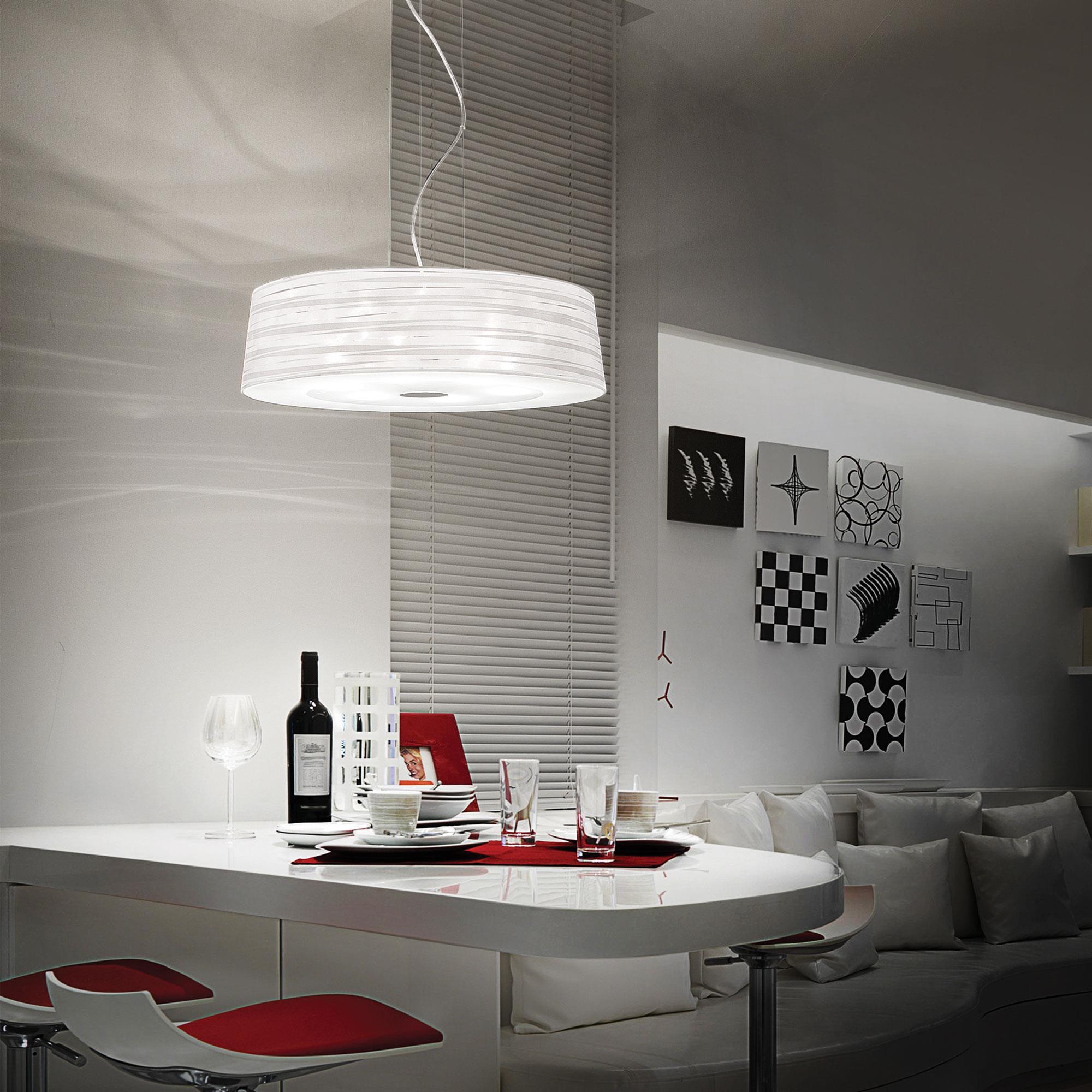 Ideal Lux 043531 Isa SP4 lámpa függeszték