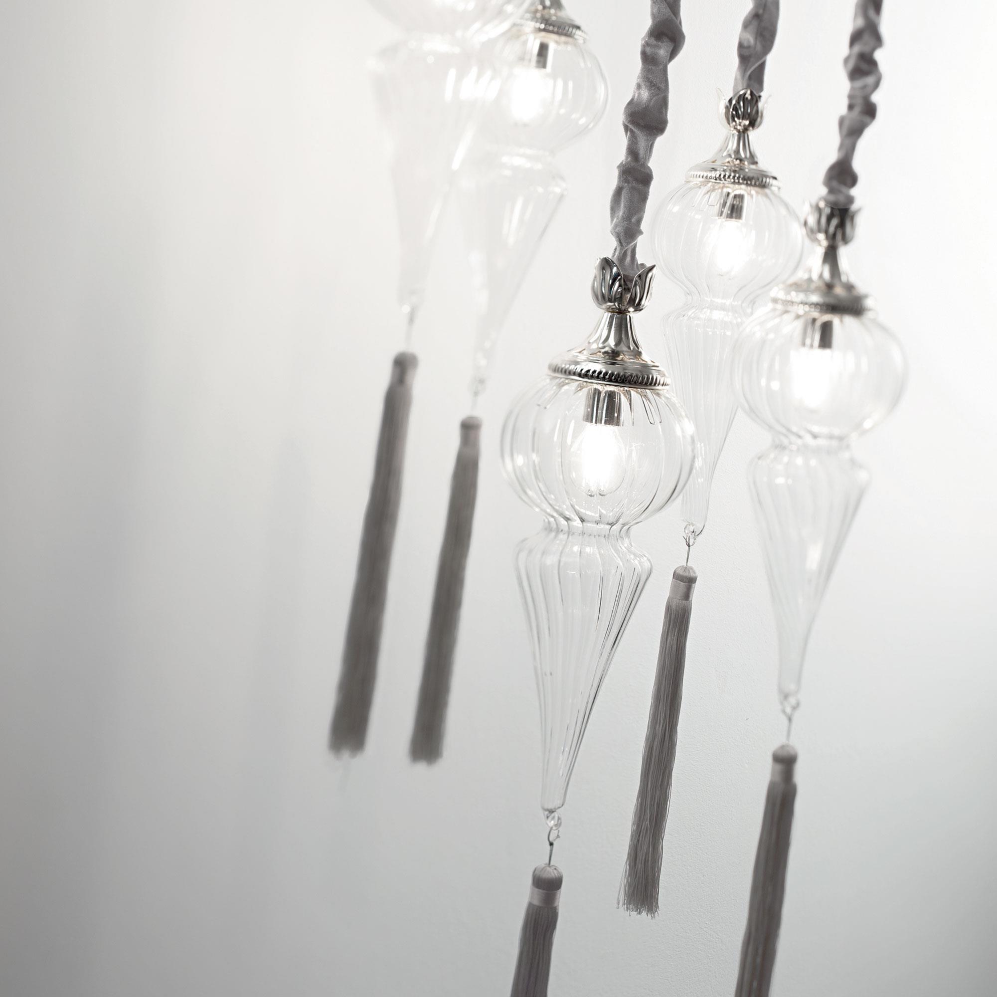 Ideal Lux 139586 HAMMAM SP5 függeszték lámpa