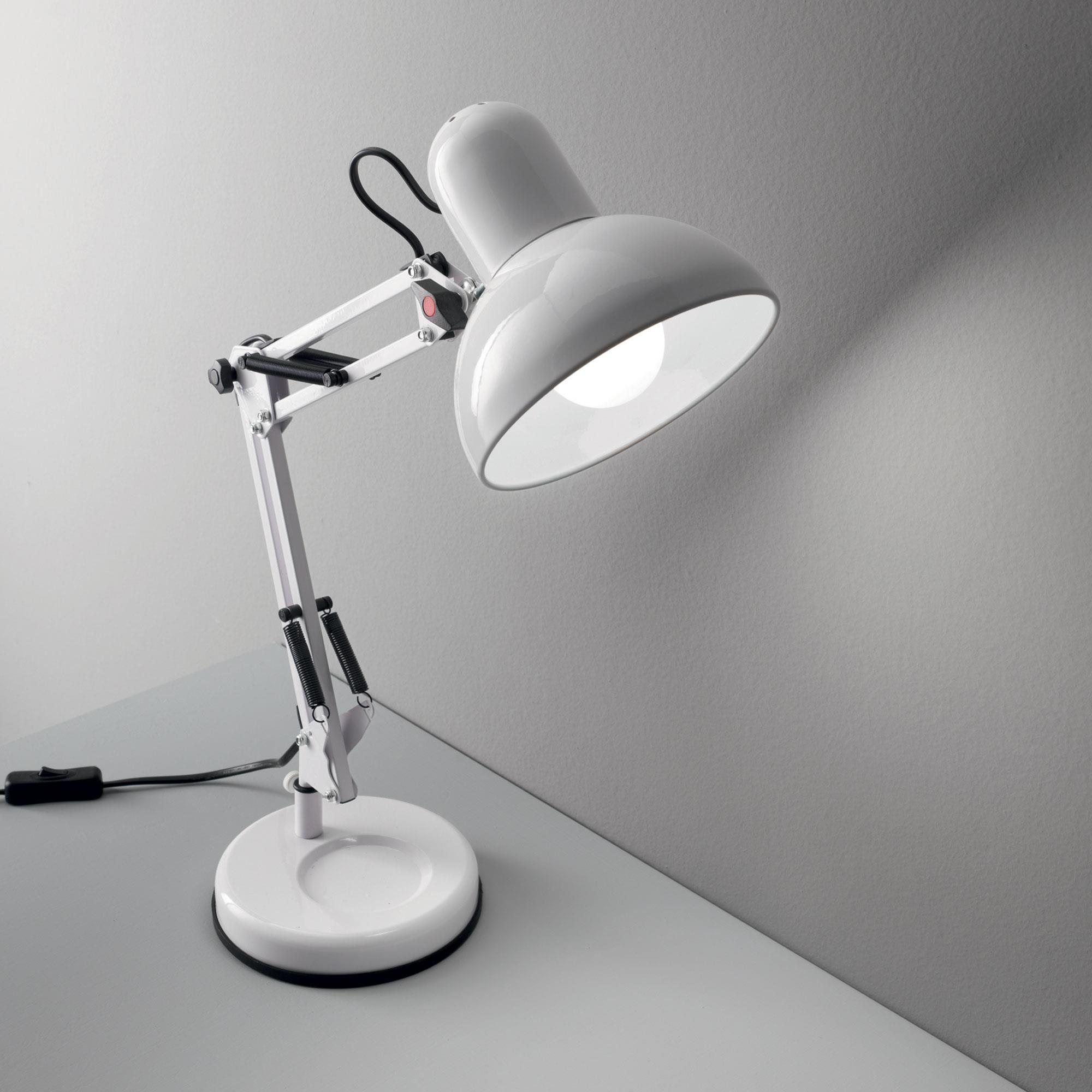 Ideal Lux 108117 Kelly TL1 Bianco asztali olvasó lámpa