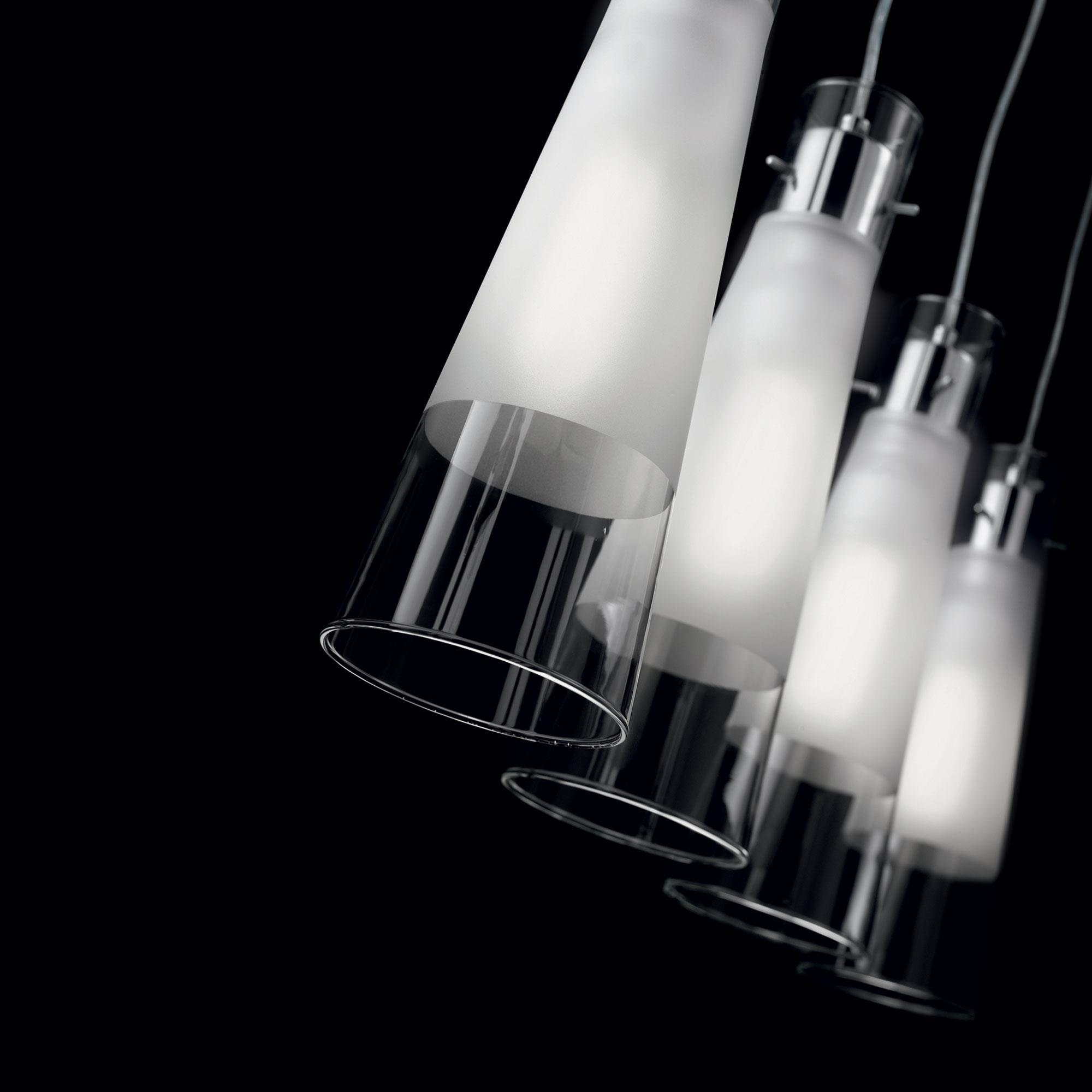 Ideal Lux 023038 Kuky SP4 Trasparente lámpa függeszték