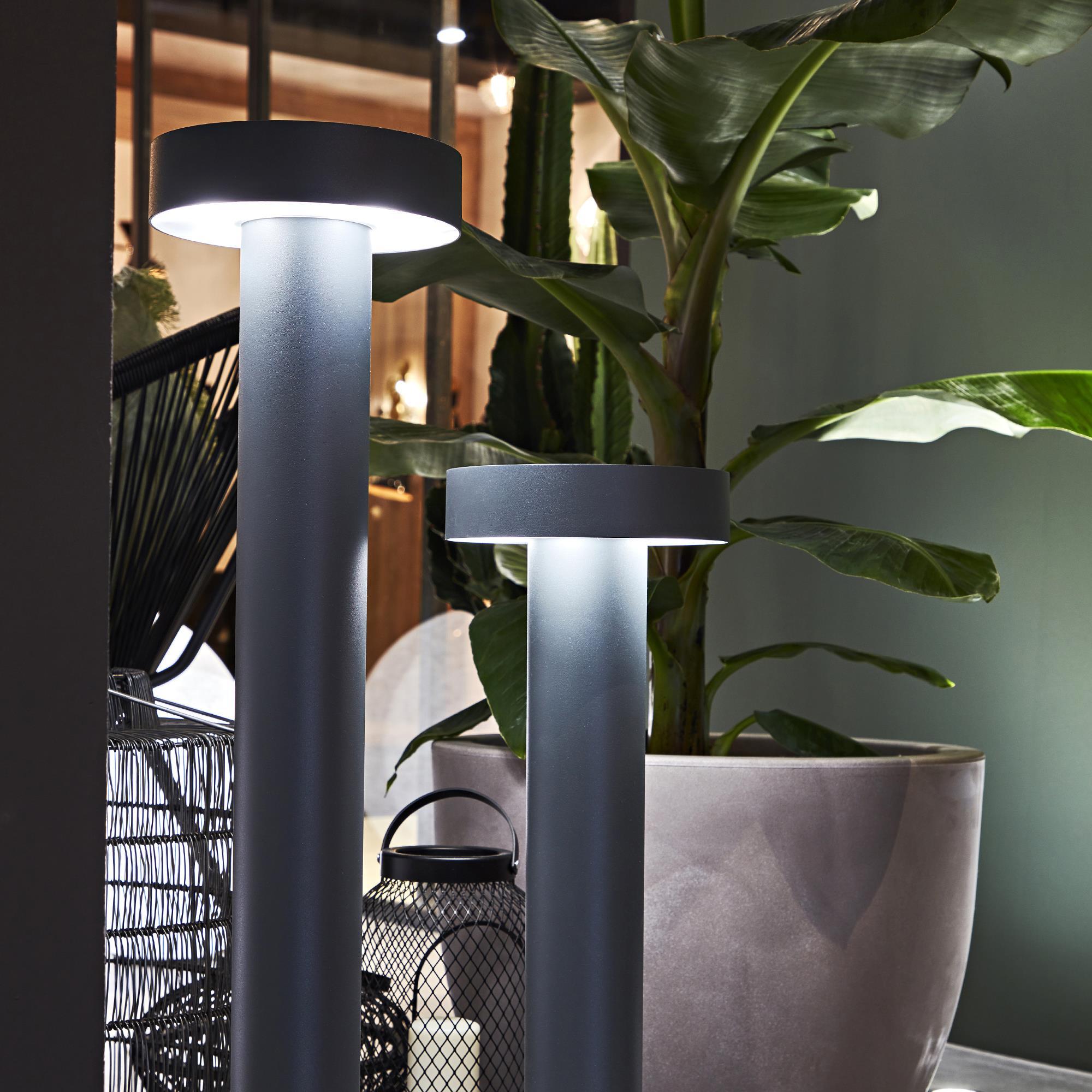 Ideal Lux 153162 TESLA PT4 BIG ANTRACITE kültéri állólámpa