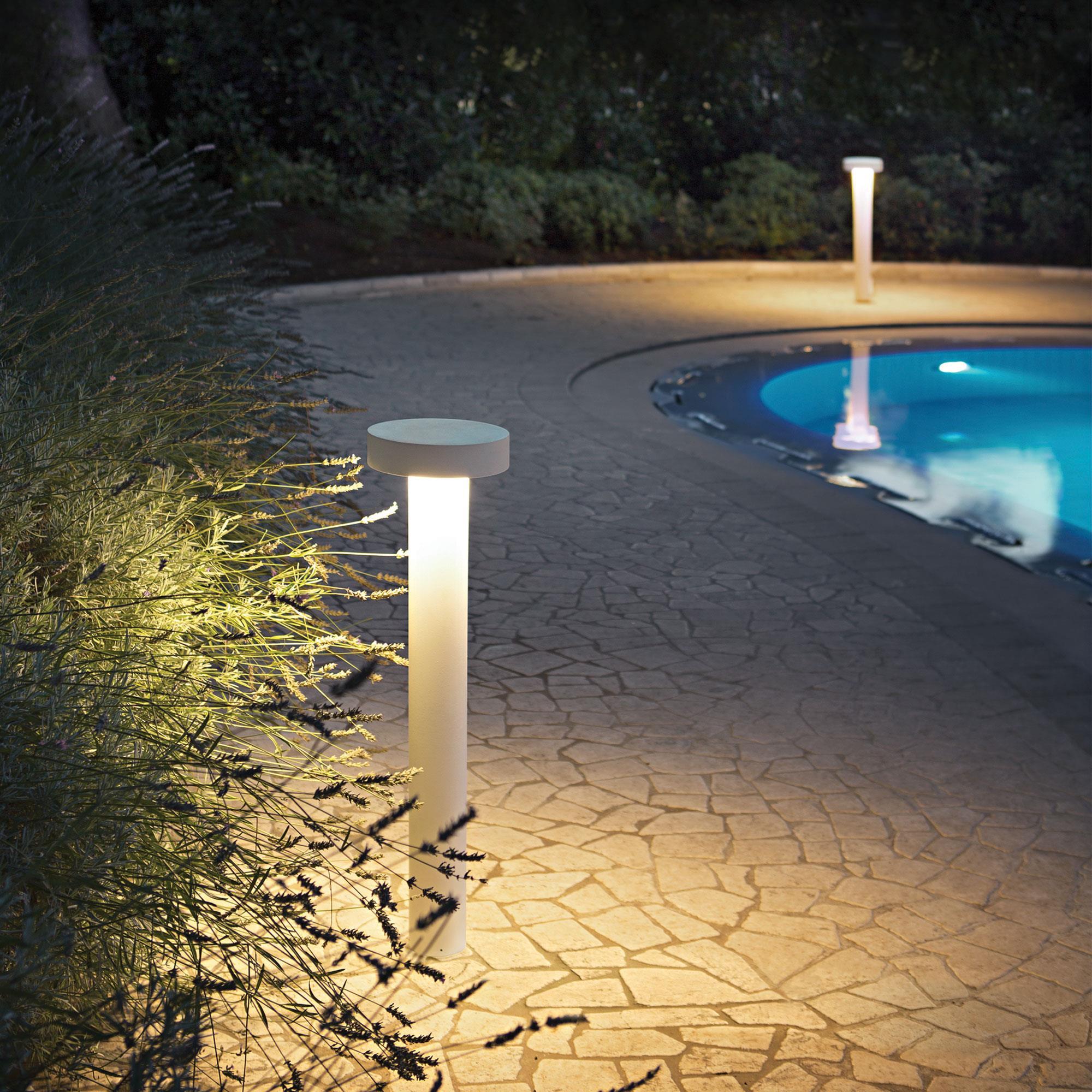 Ideal Lux 153209 TESLA PT4 SMALL BIANCO kültéri állólámpa