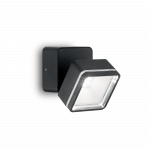 Ideal Lux 165370 OMEGA SQUARE AP1 NERO LED kültéri falkar